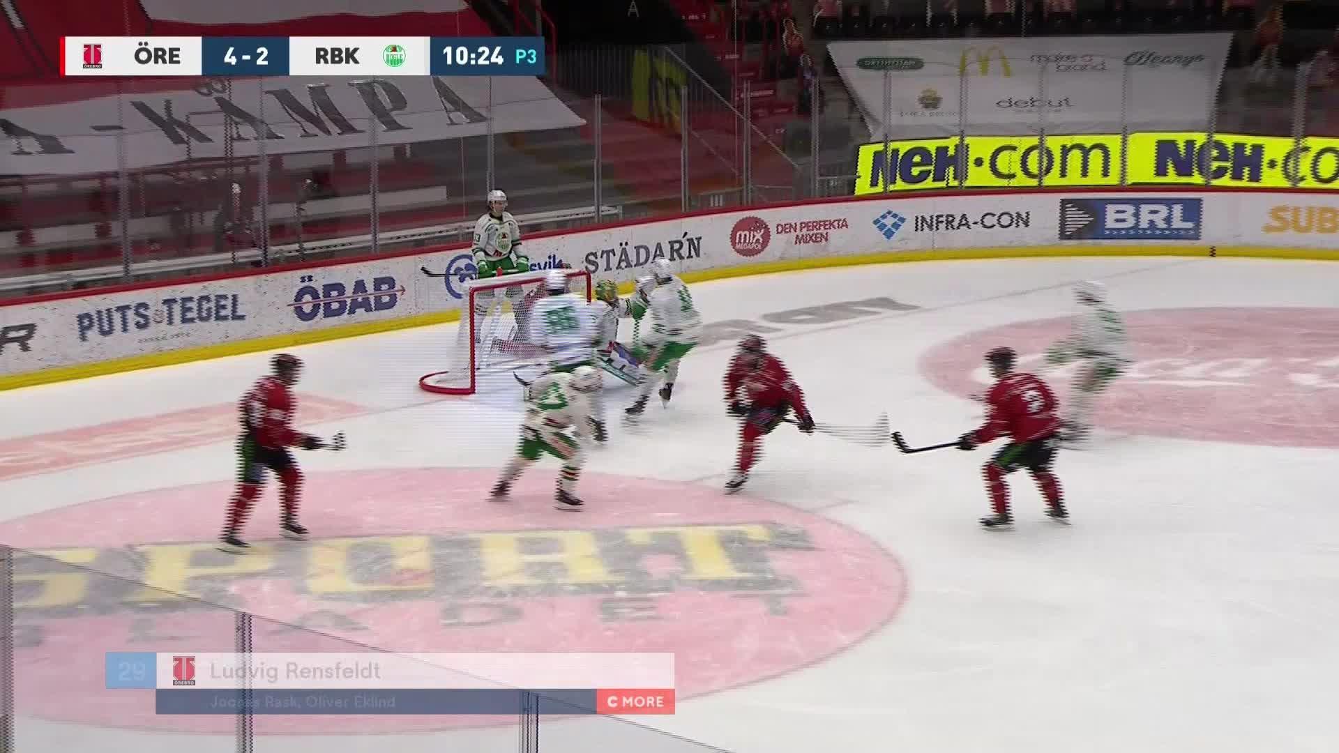 Örebro Hockey - Rögle BK 5-2