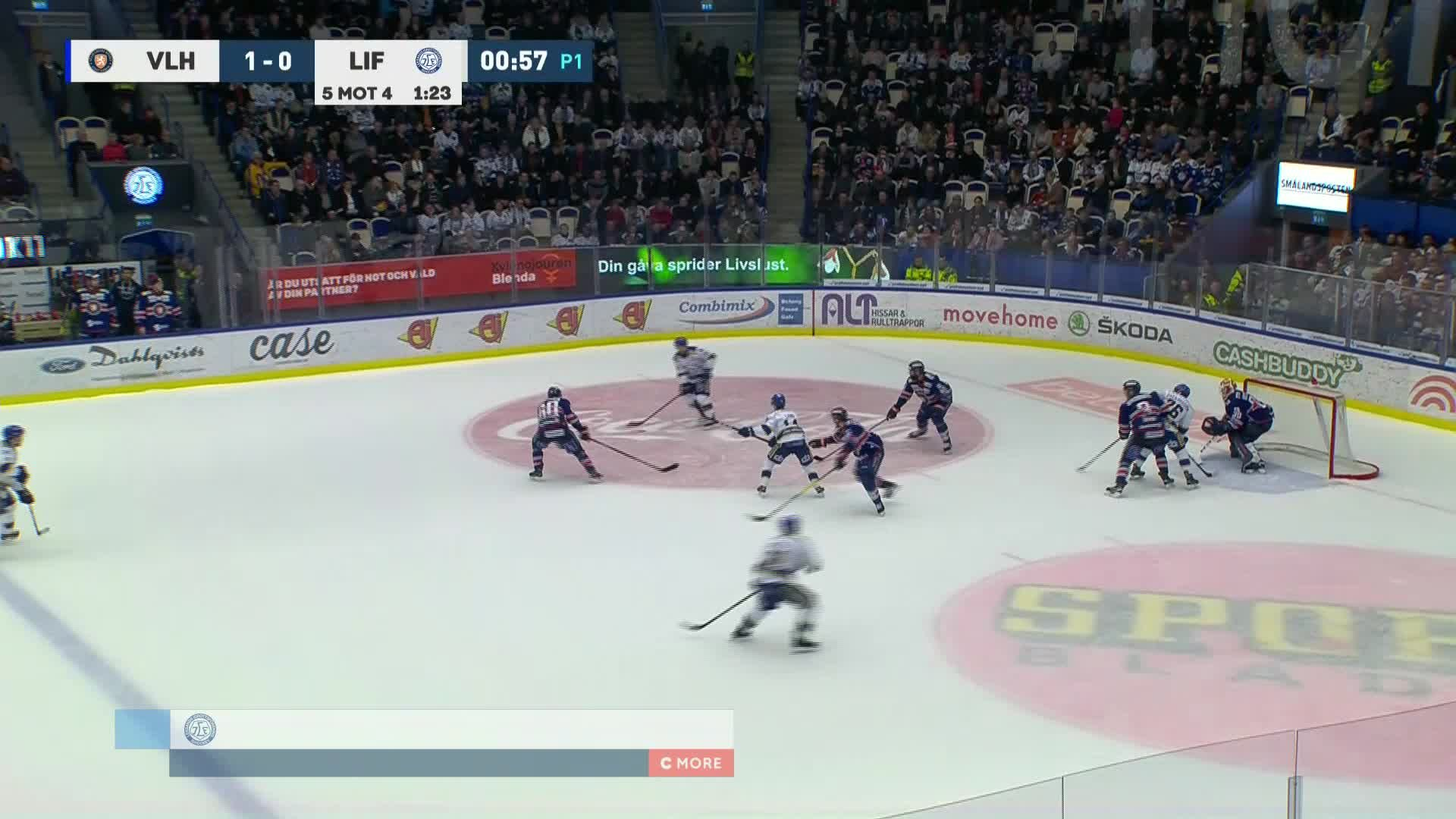 Växjö Lakers - Leksands IF 1-1
