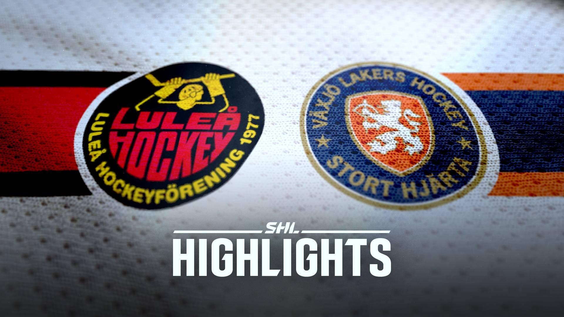 Luleå Hockey - Växjö Lakers