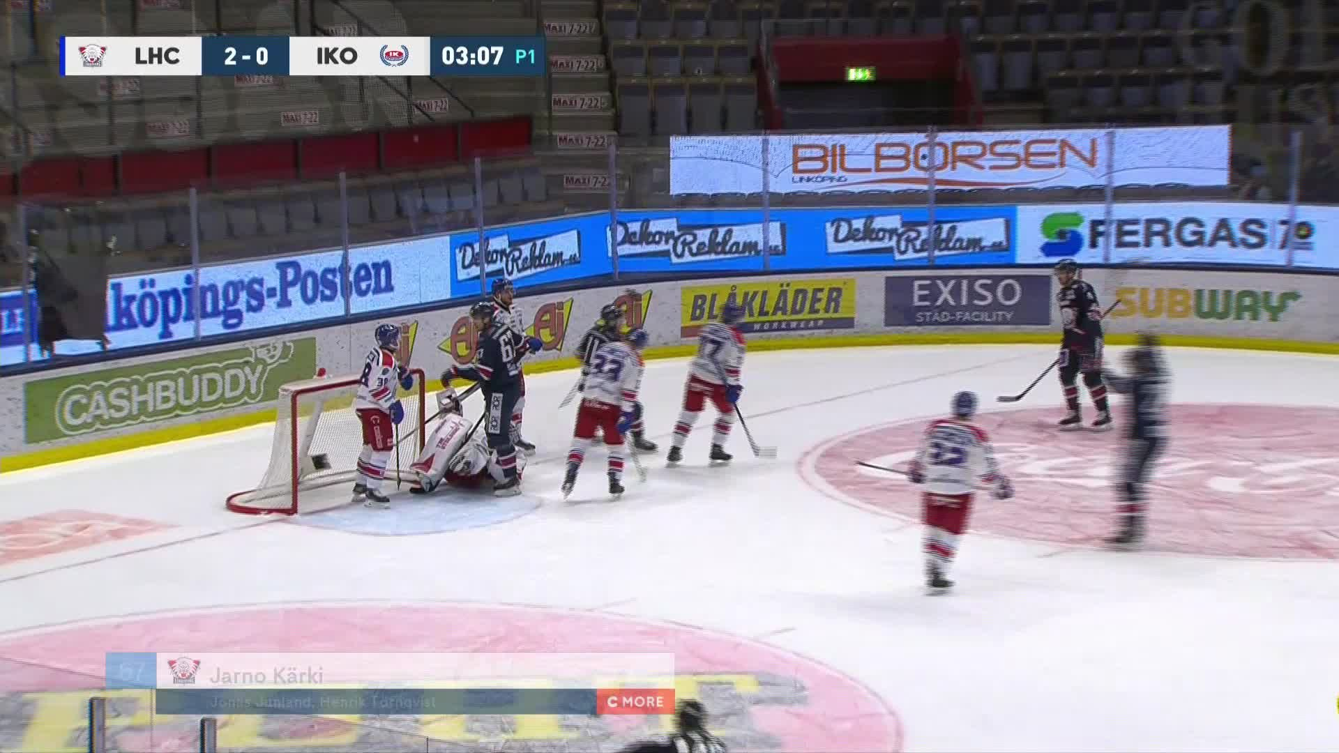 Linköping HC - IK Oskarshamn 2-0