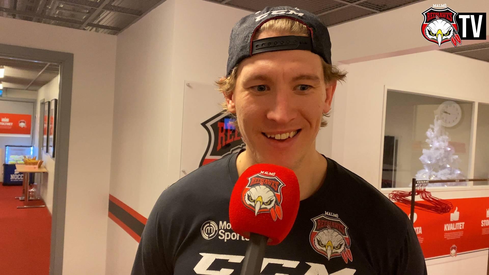 Emil Sylvegård om kvällens seger