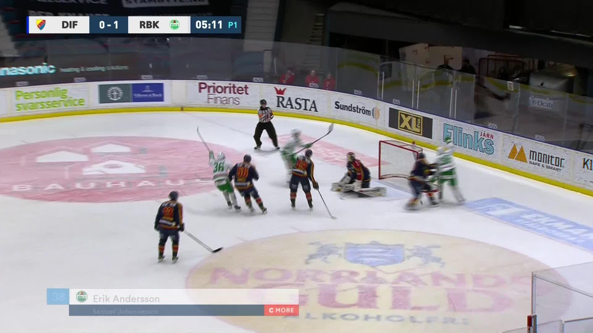 Djurgården Hockey - Rögle BK 0-2
