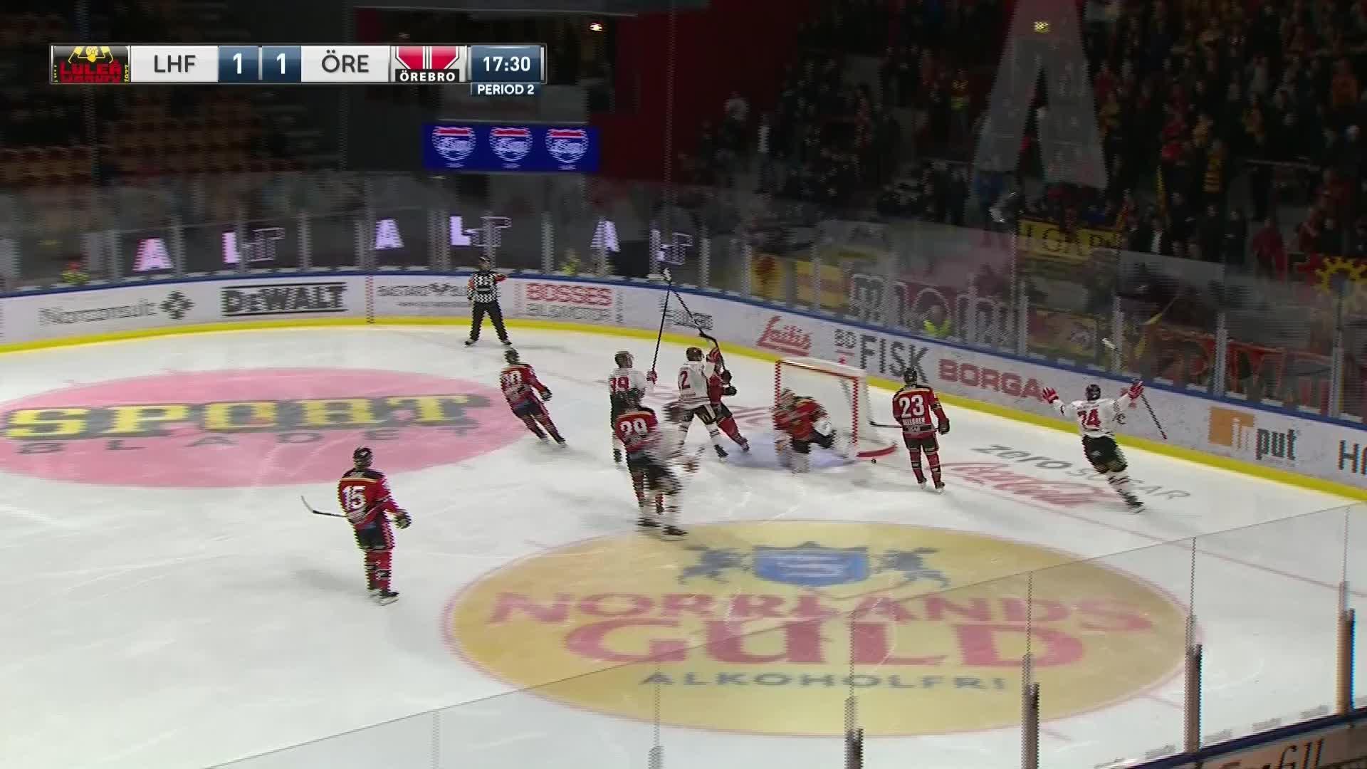 Luleå Hockey - Örebro Hockey 1-2
