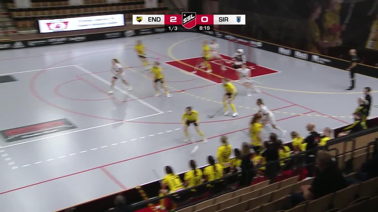 Highlights: Endre IF - Sirius Innebandy