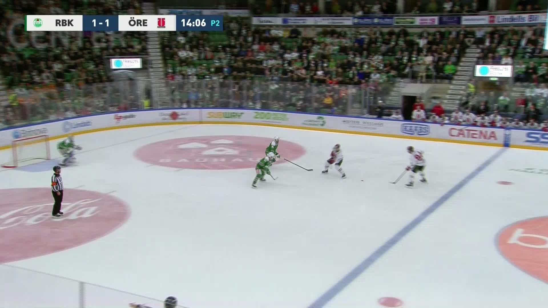 Rögle BK - Örebro Hockey 1-2