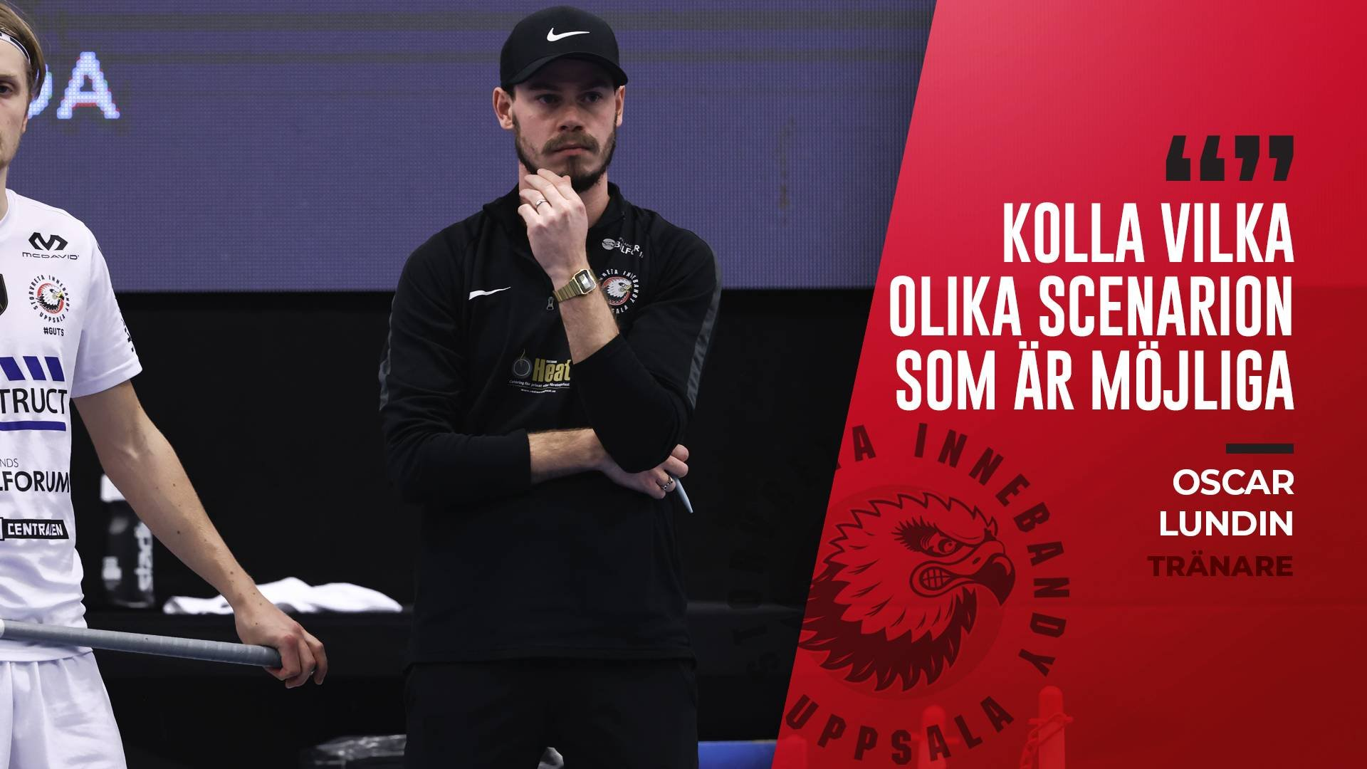 "Oscar Lundin ""Stolt över laget"""