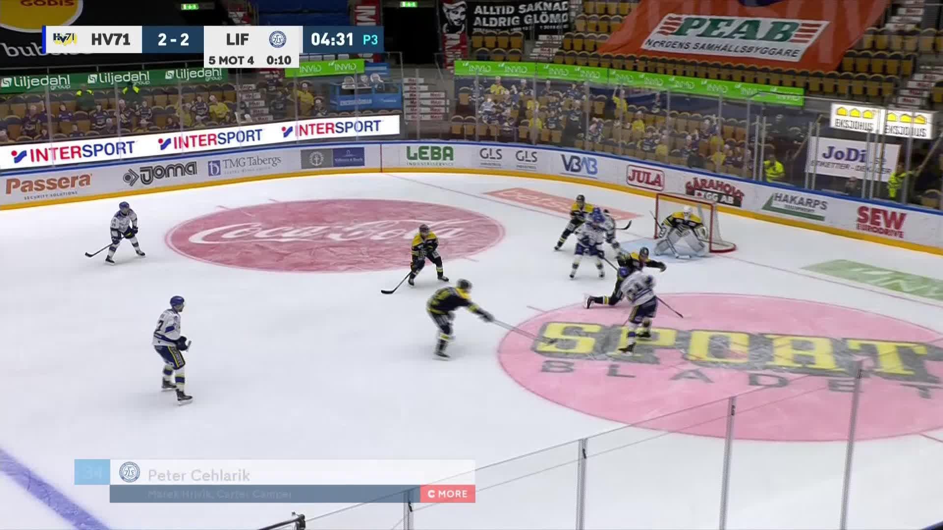 HV71 - Leksands IF 2-3