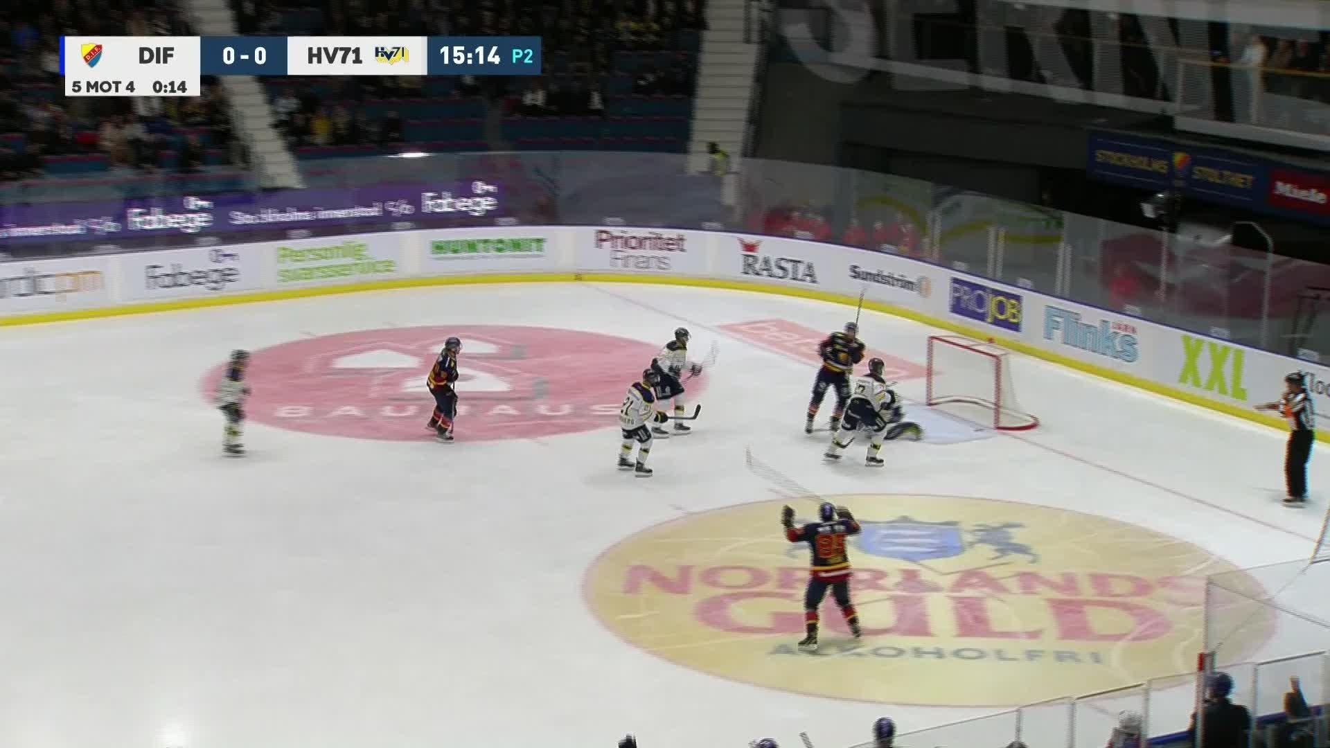 Djurgården Hockey - HV71 1-0
