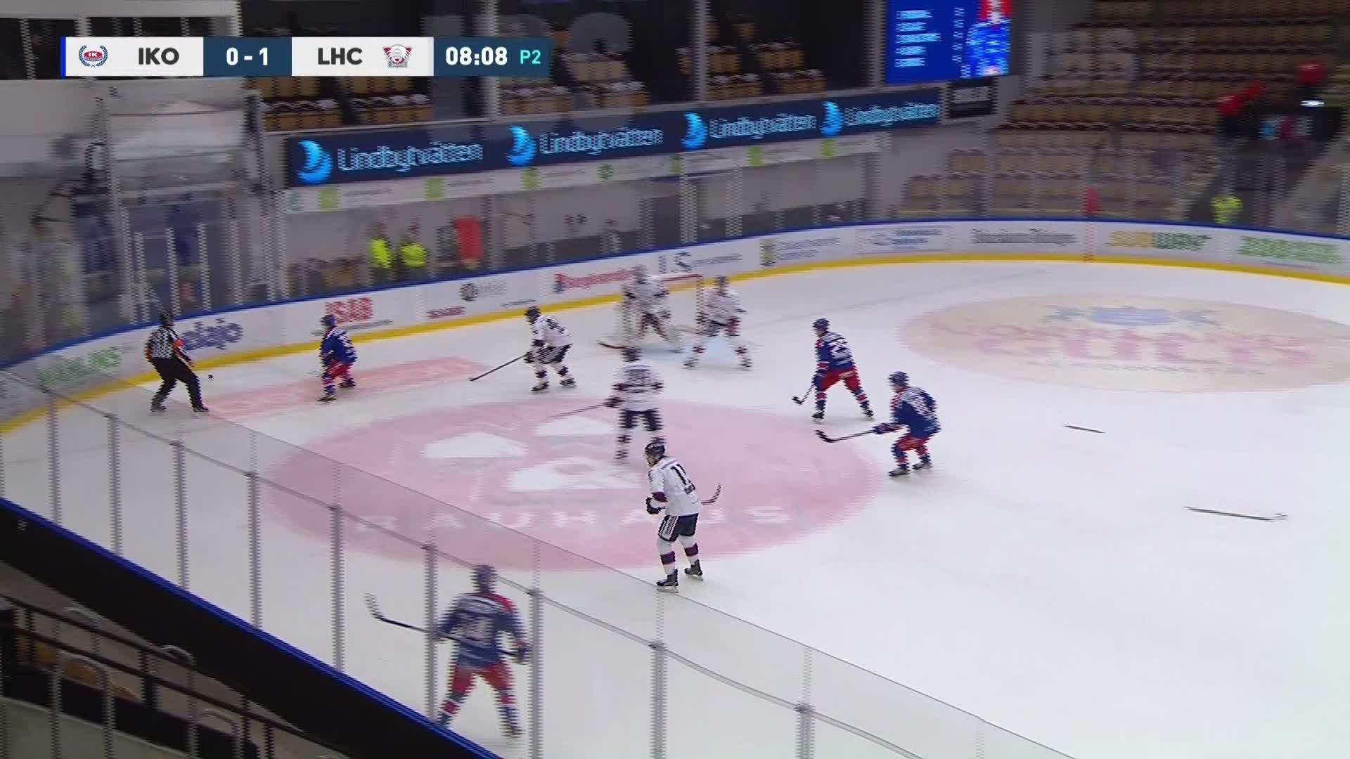 IK Oskarshamn - Linköping HC 1-1