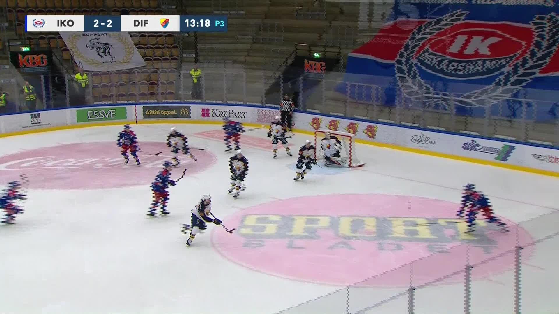 IK Oskarshamn - Djurgården Hockey 3-2