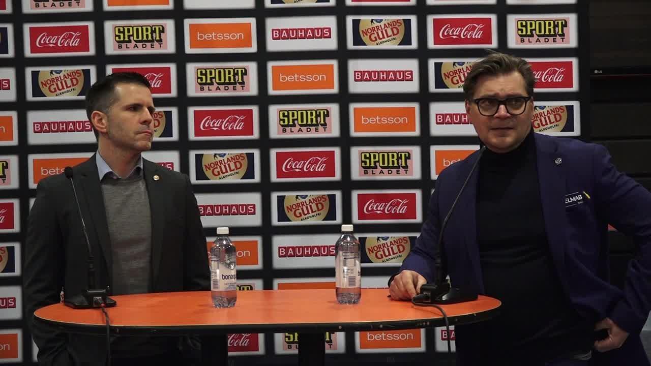Presskonferens LIF-RBK 26 Dec