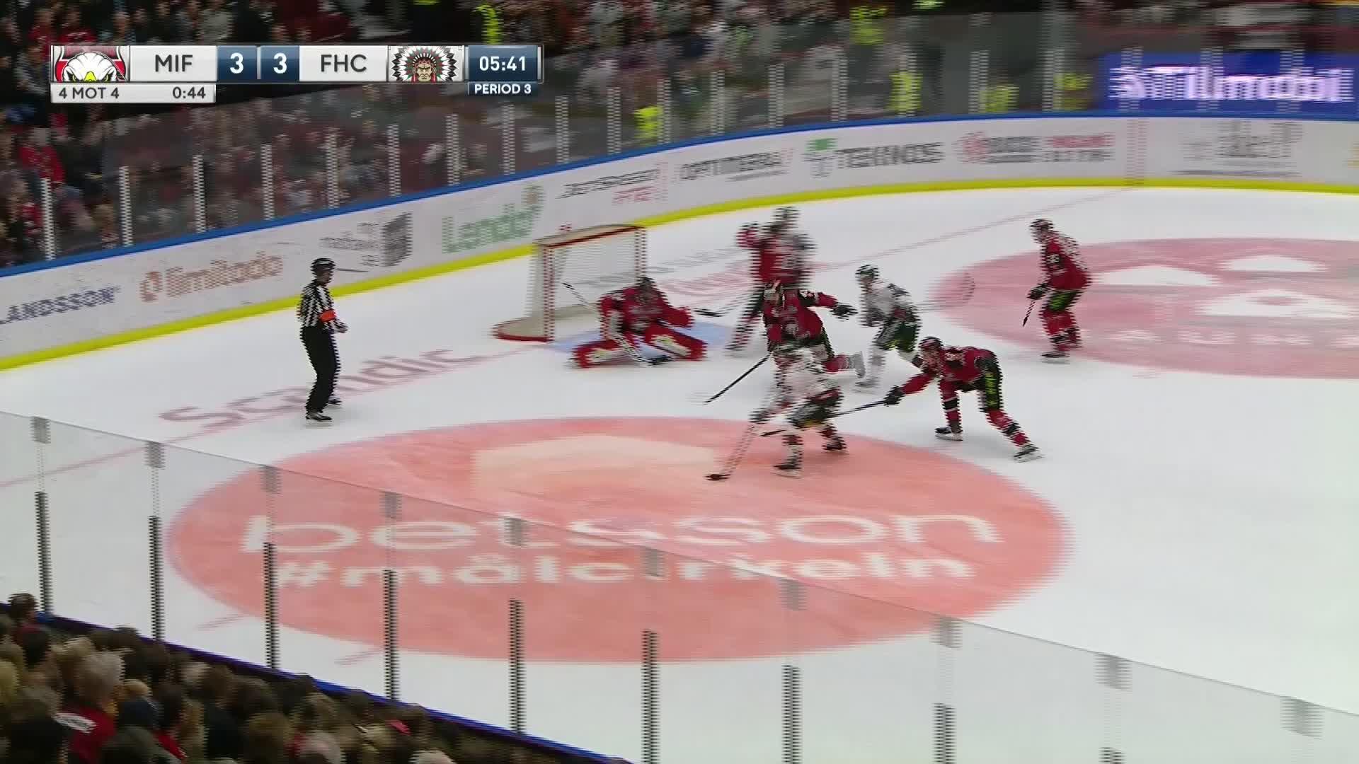 Malmö Redhawks - Frölunda HC 3-4