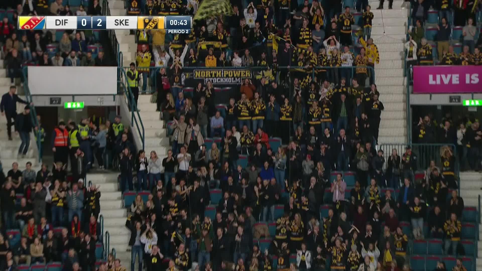 Djurgården Hockey - Skellefteå AIK 0-2