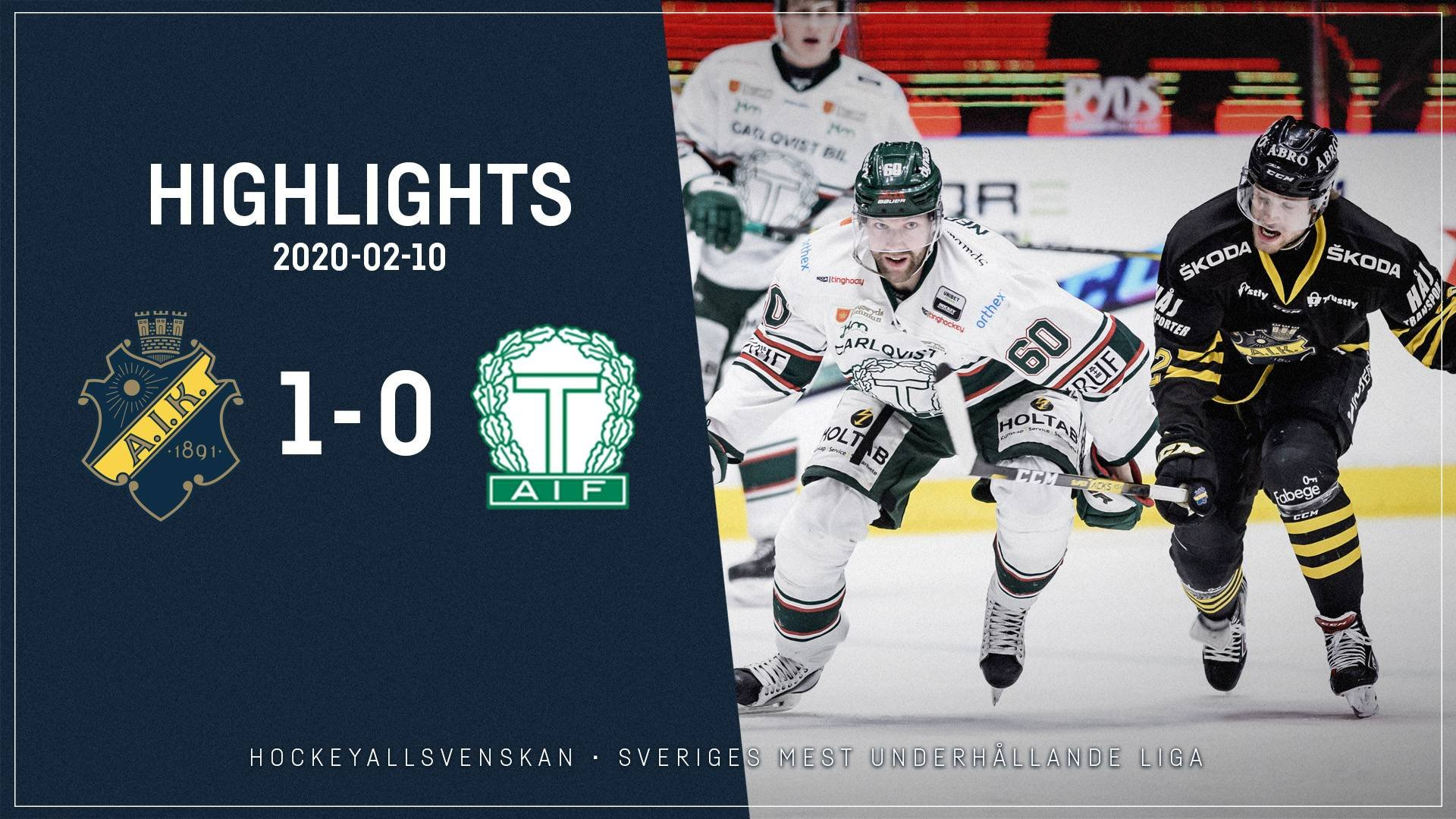 2020-02-10 AIK - Tingsryd 1-0