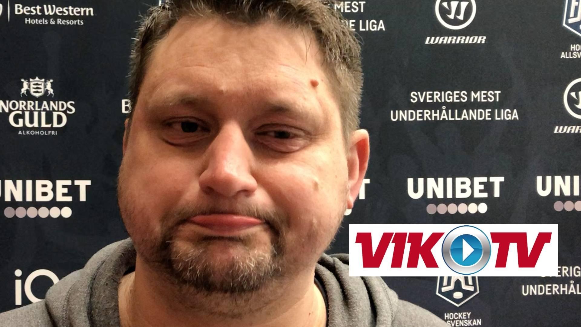 Intervju med Karlin inför matchen mot Karlskoga