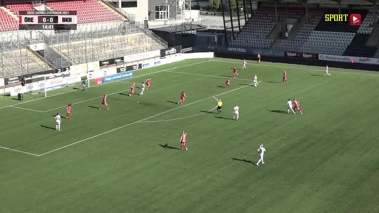Highlights: KIF Örebro - BK Häcken