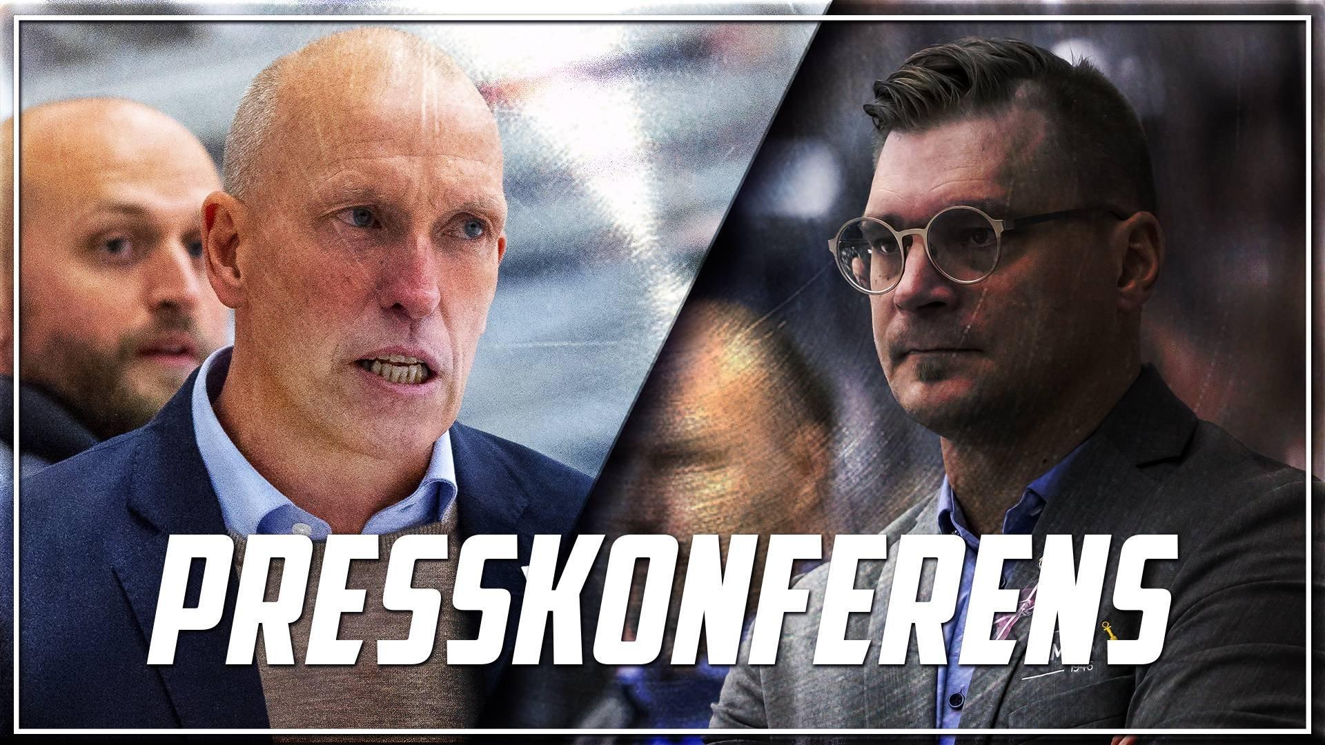 Presskonferens: Timrå IK - Leksands IF