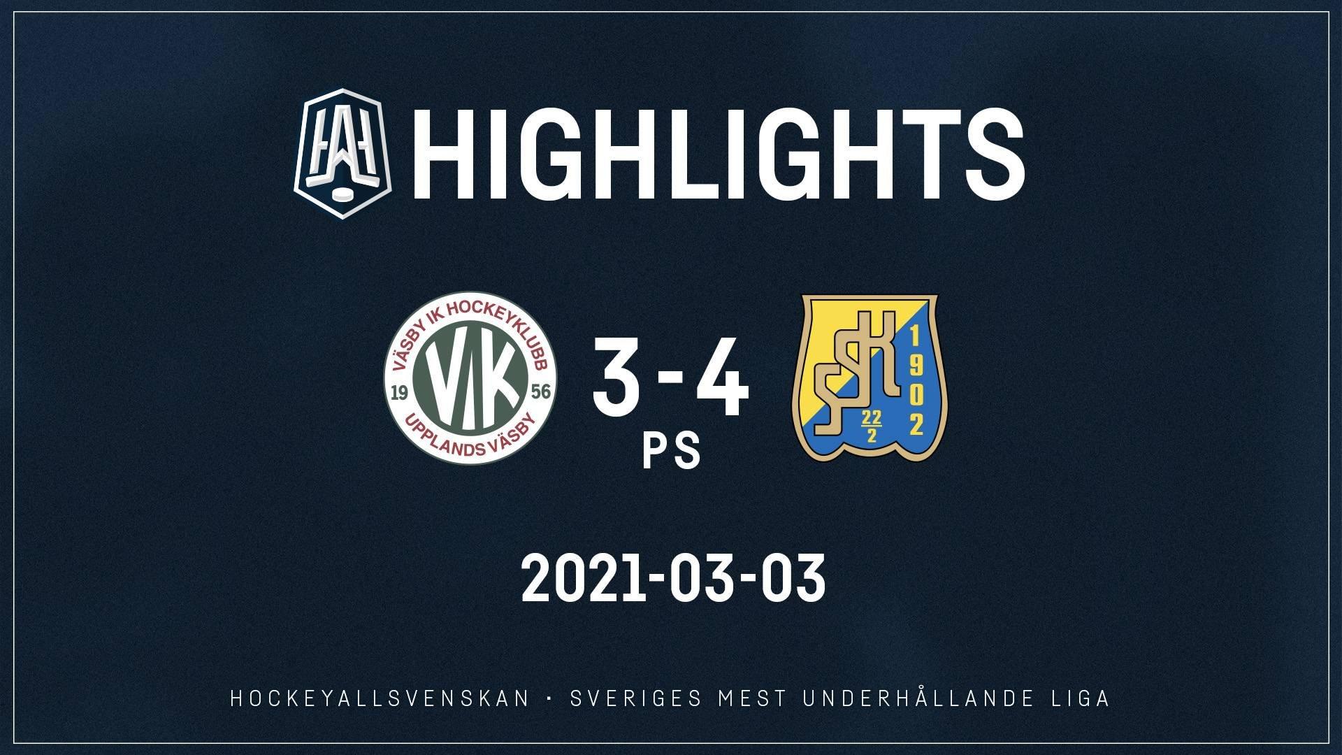 2021-03-03 Väsby - Södertälje 3-4 (PS)