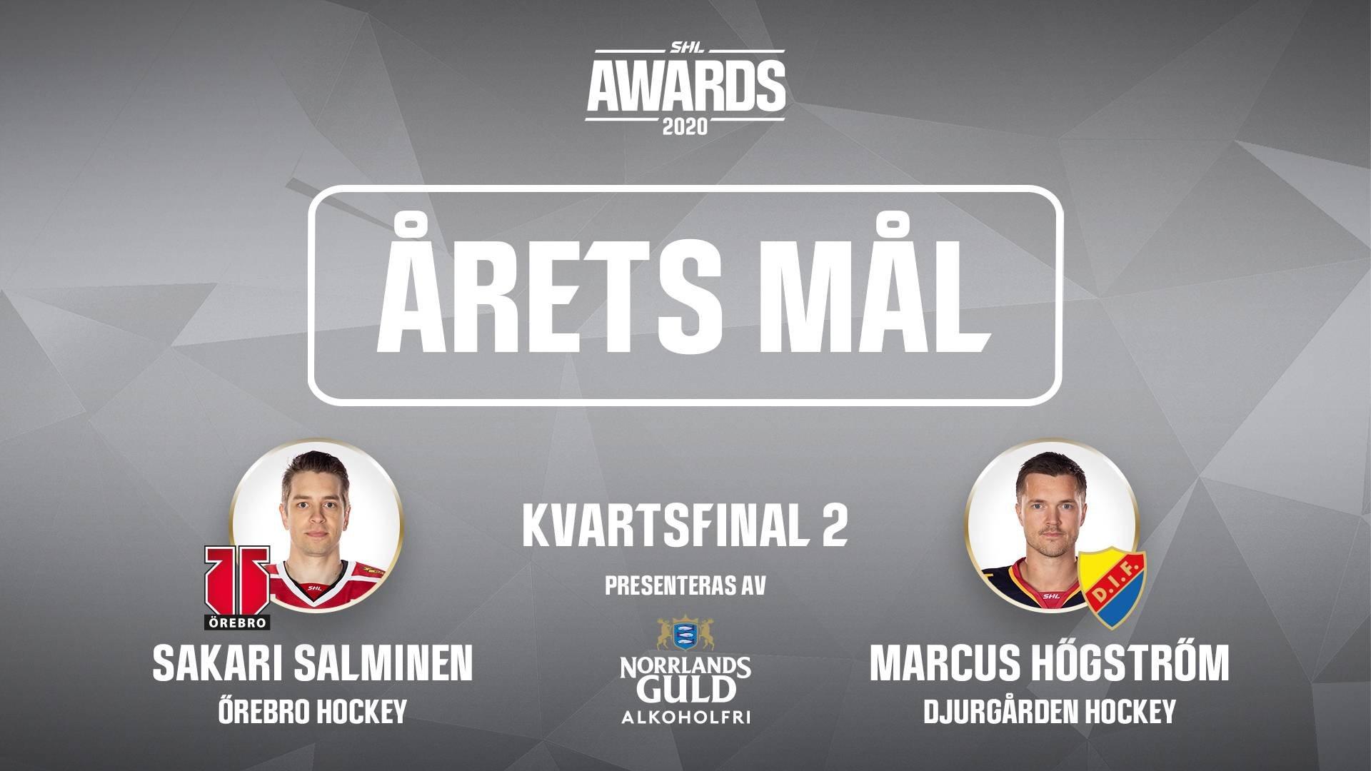 Årets mål 2019/2020 - Kvartsfinal 2