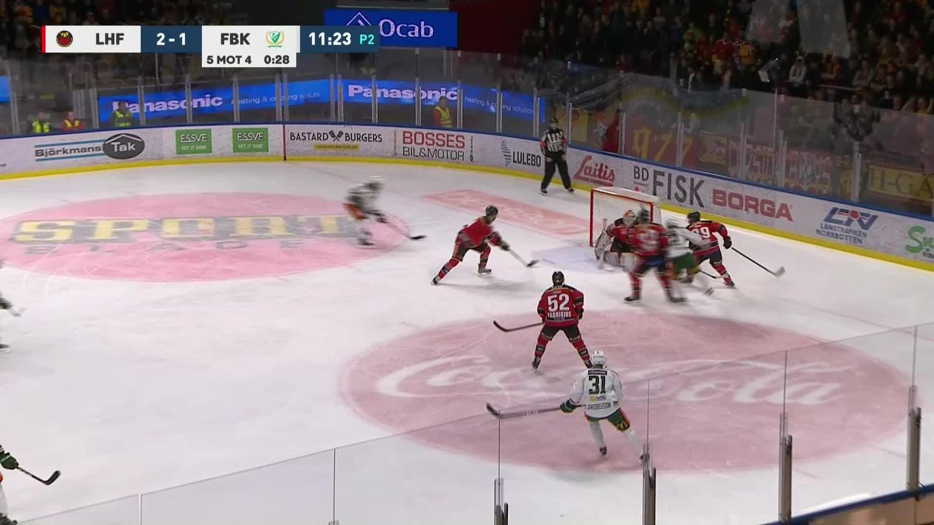 Luleå Hockey - Färjestad BK 2-2