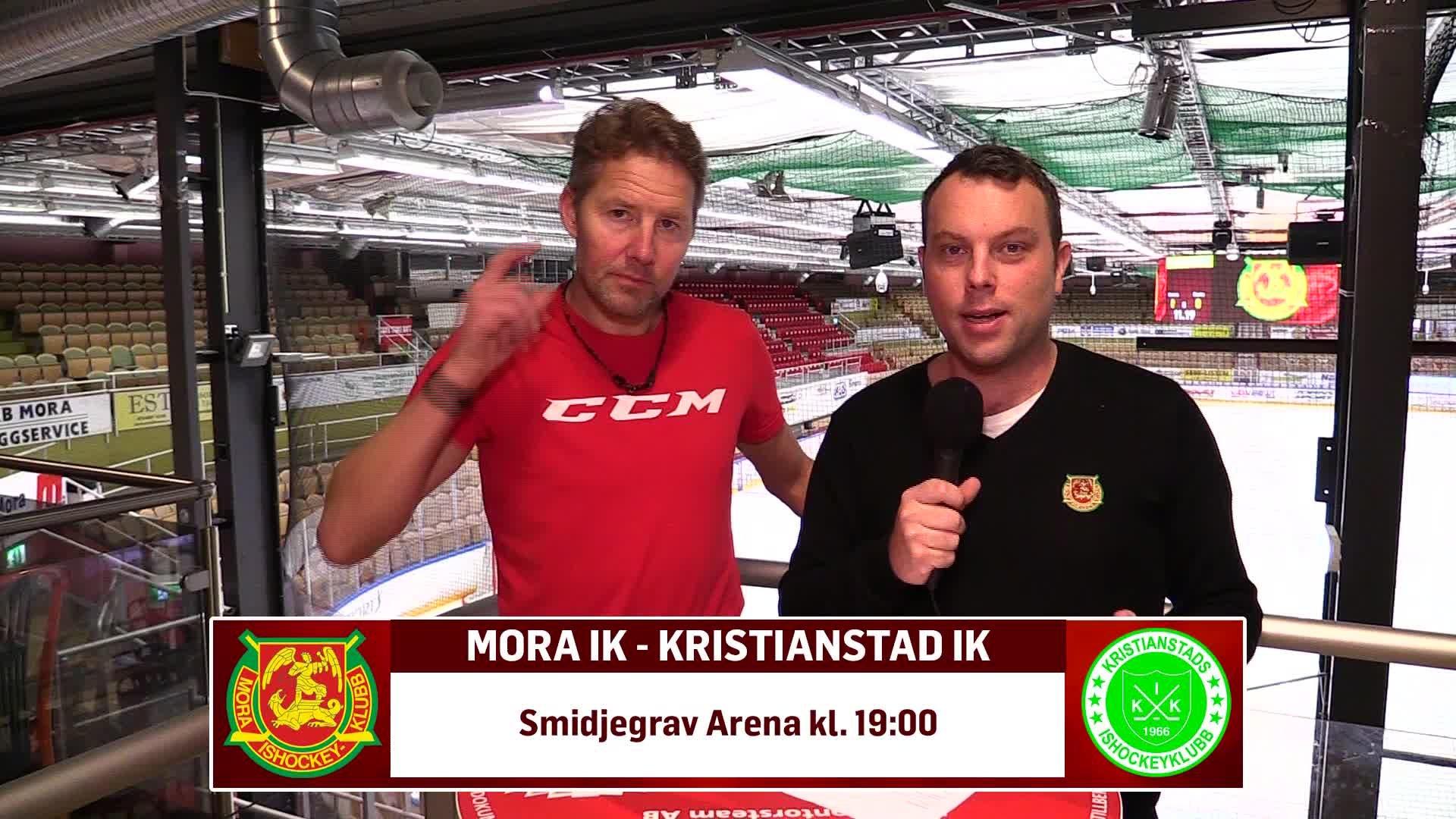 Uppladdning inför Mora -Kristianstad