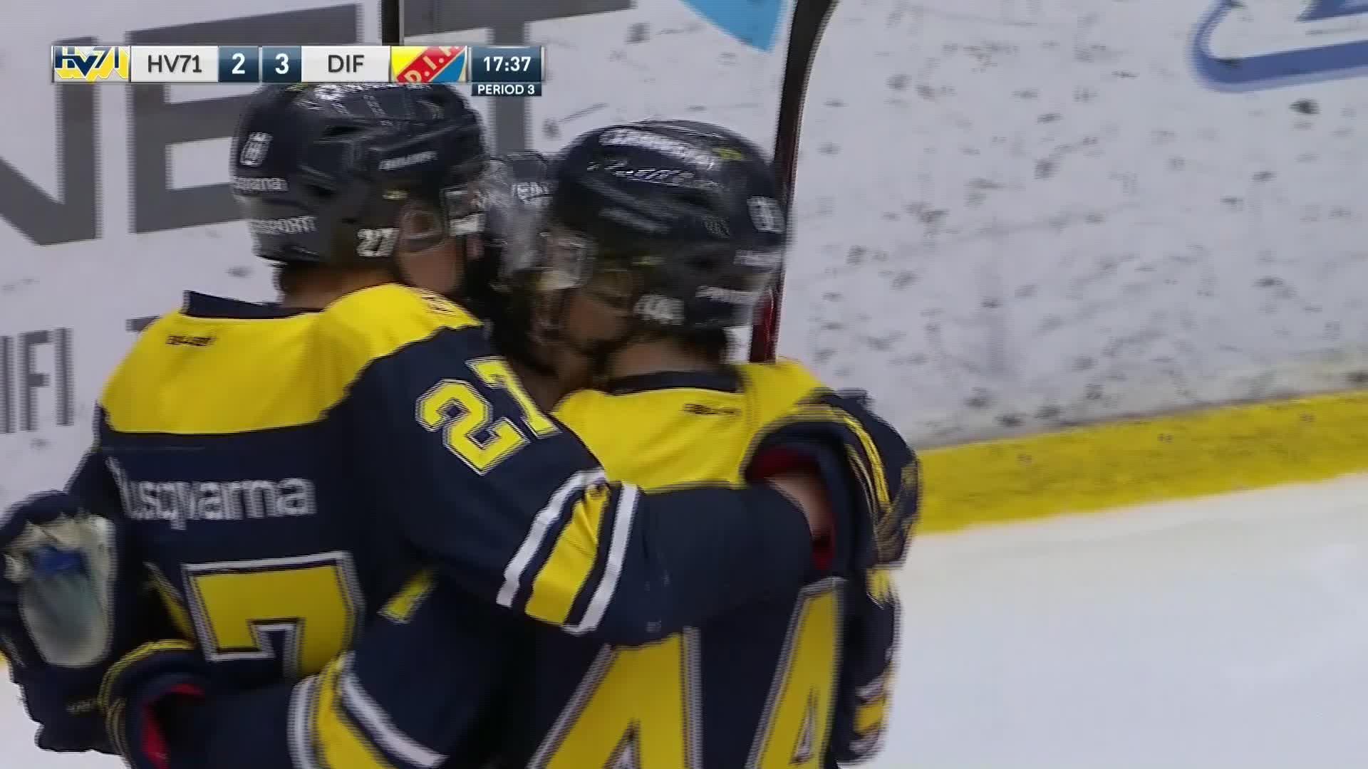 HV71 - Djurgården Hockey 2-3