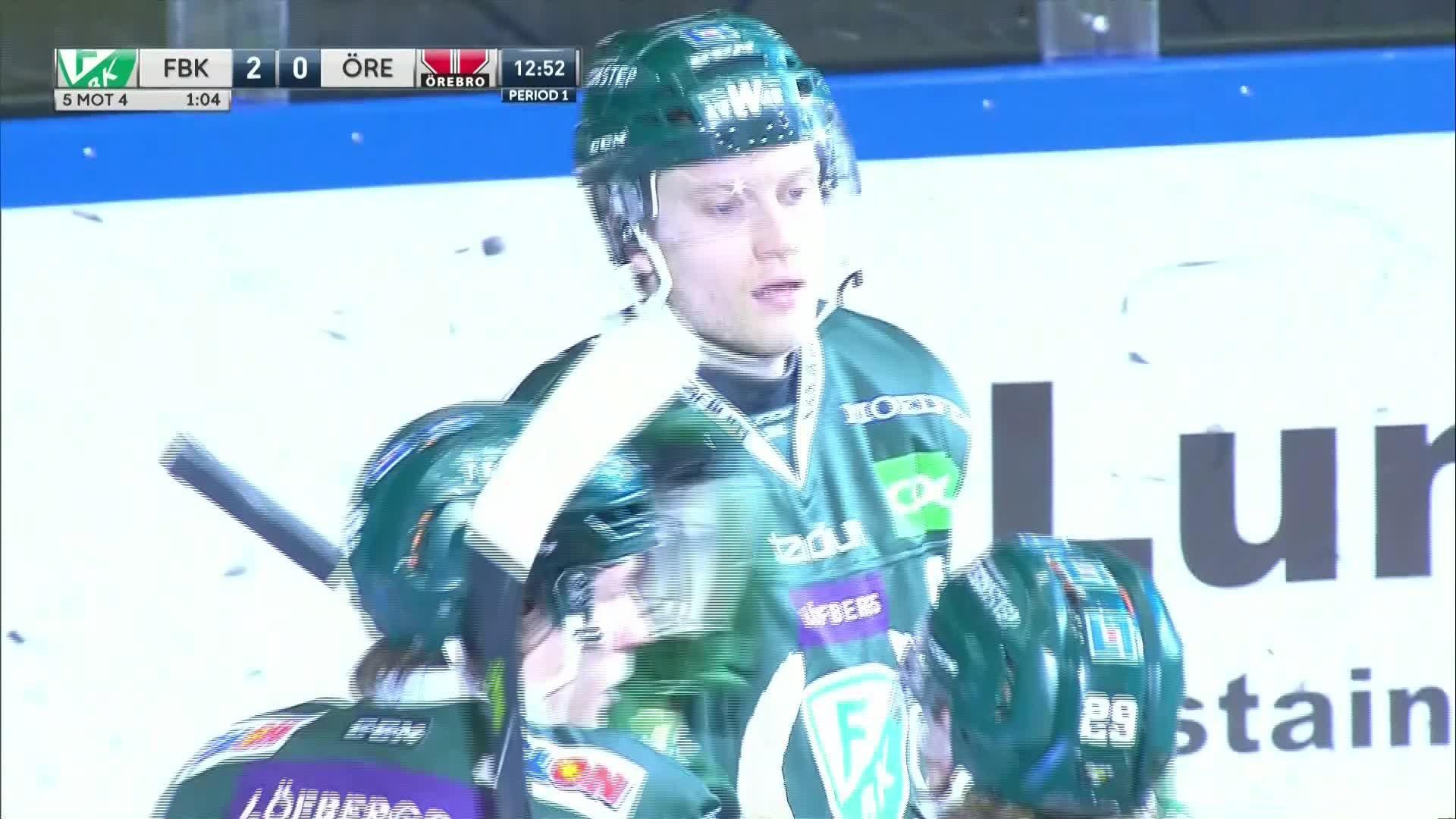 Färjestad BK - Örebro Hockey 2-0