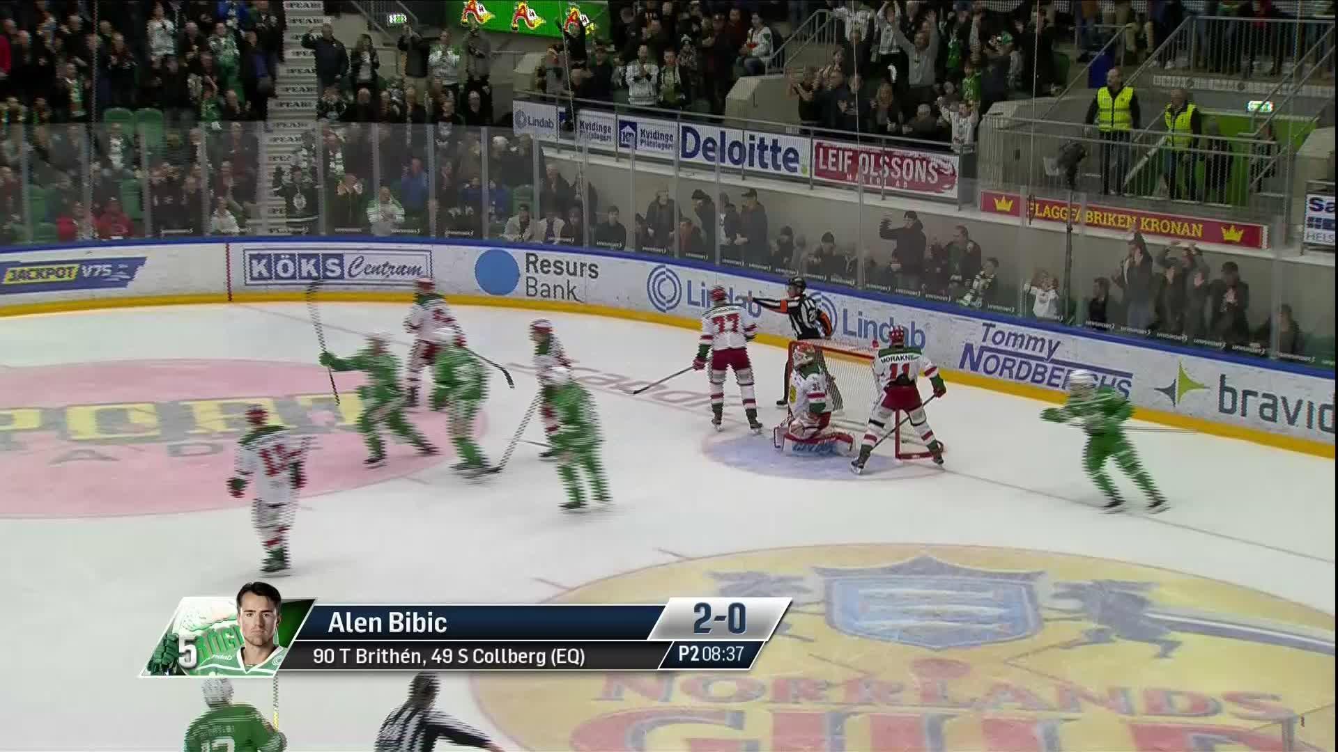 Rögle BK - Mora IK 2-0