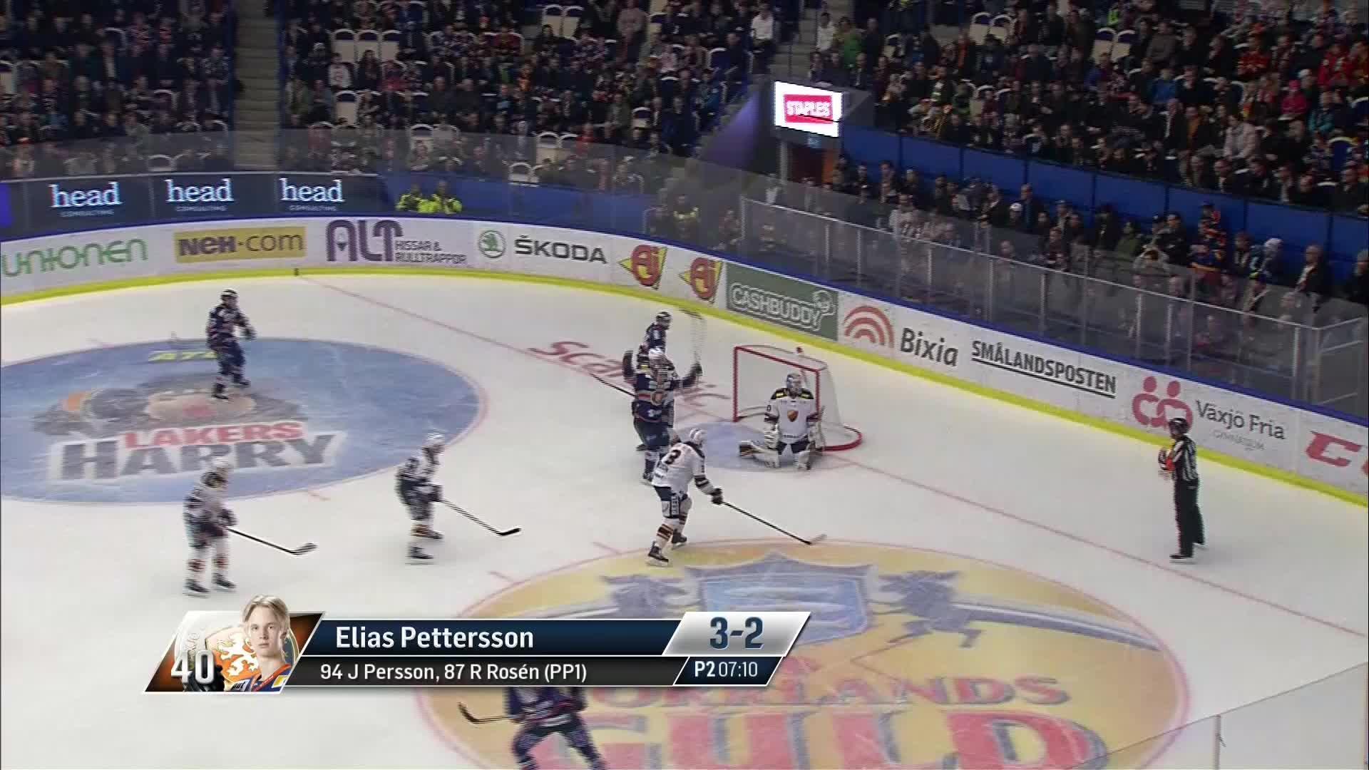 Växjö Lakers - Djurgården Hockey 3-2