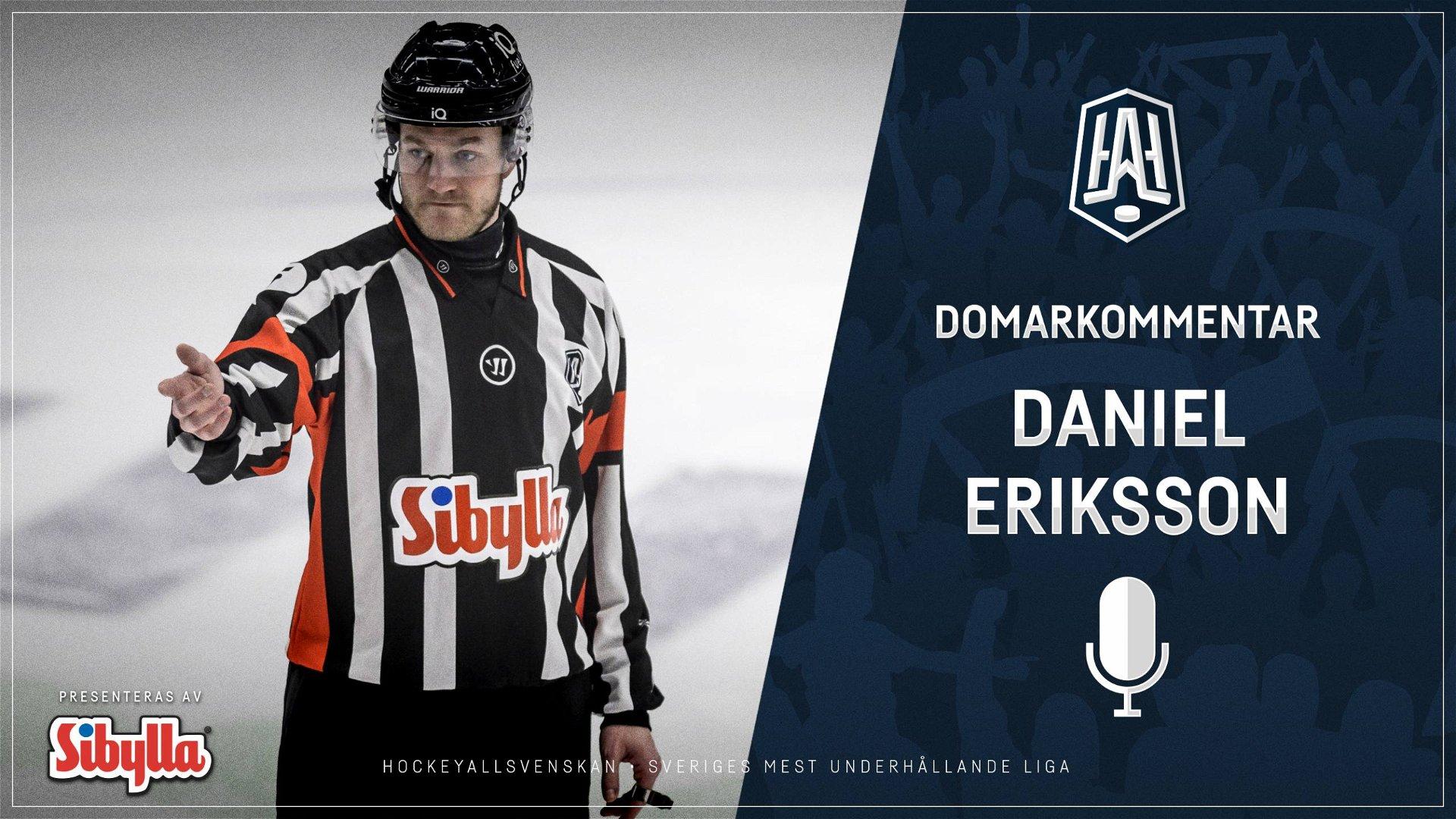 Domarkommentar: Daniel Eriksson