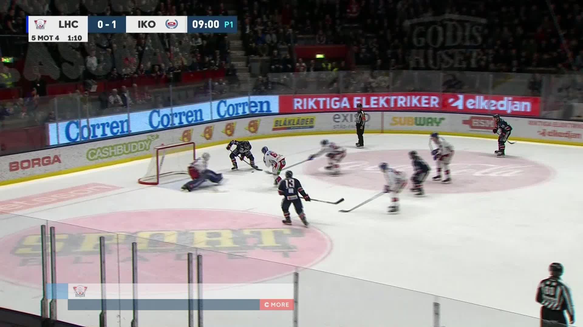 Linköping HC - IK Oskarshamn 1-1