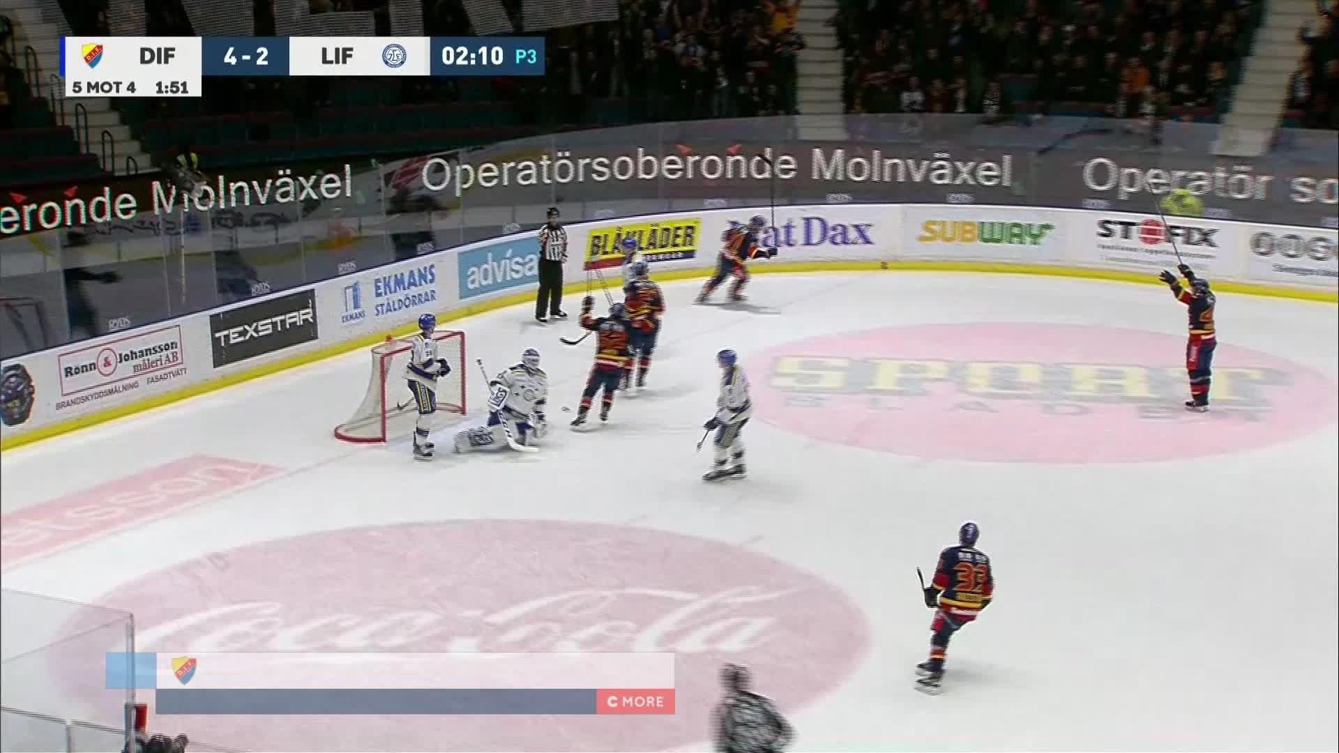 Djurgården Hockey - Leksands IF 5-2