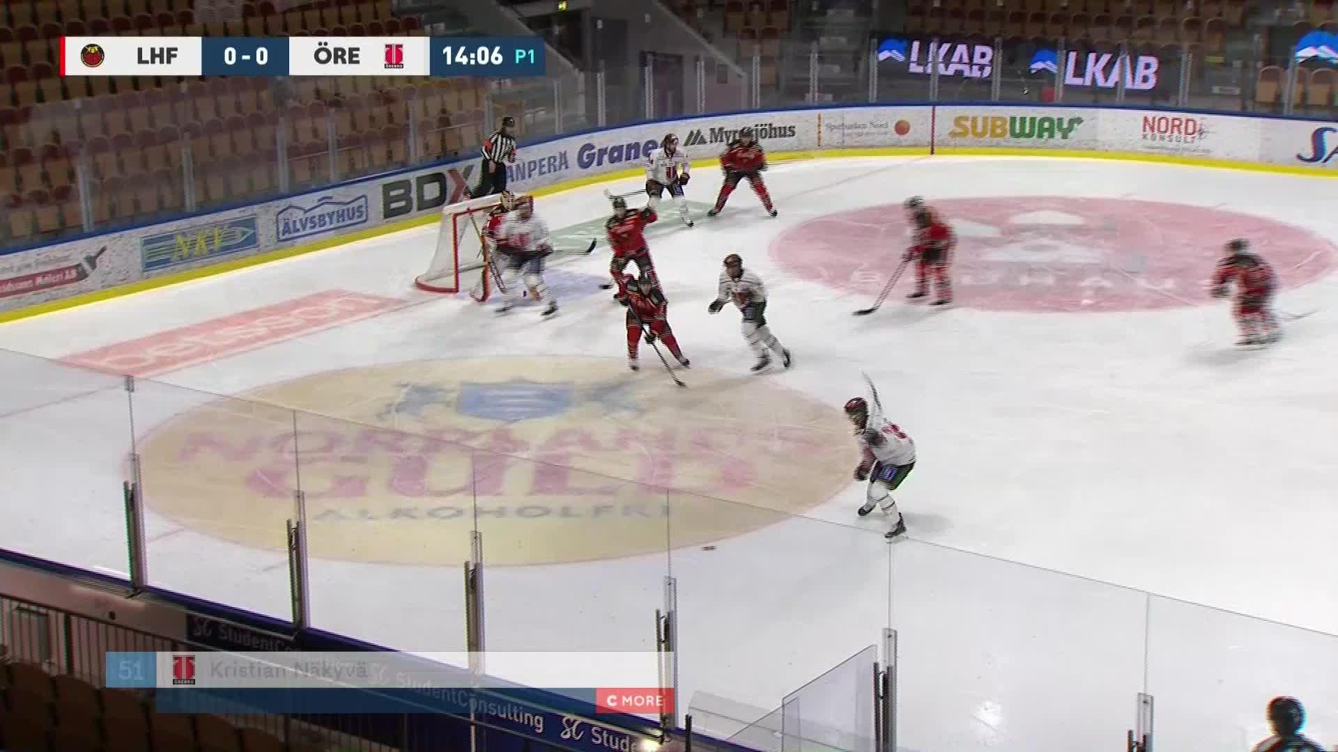 Luleå Hockey - Örebro Hockey 0-1
