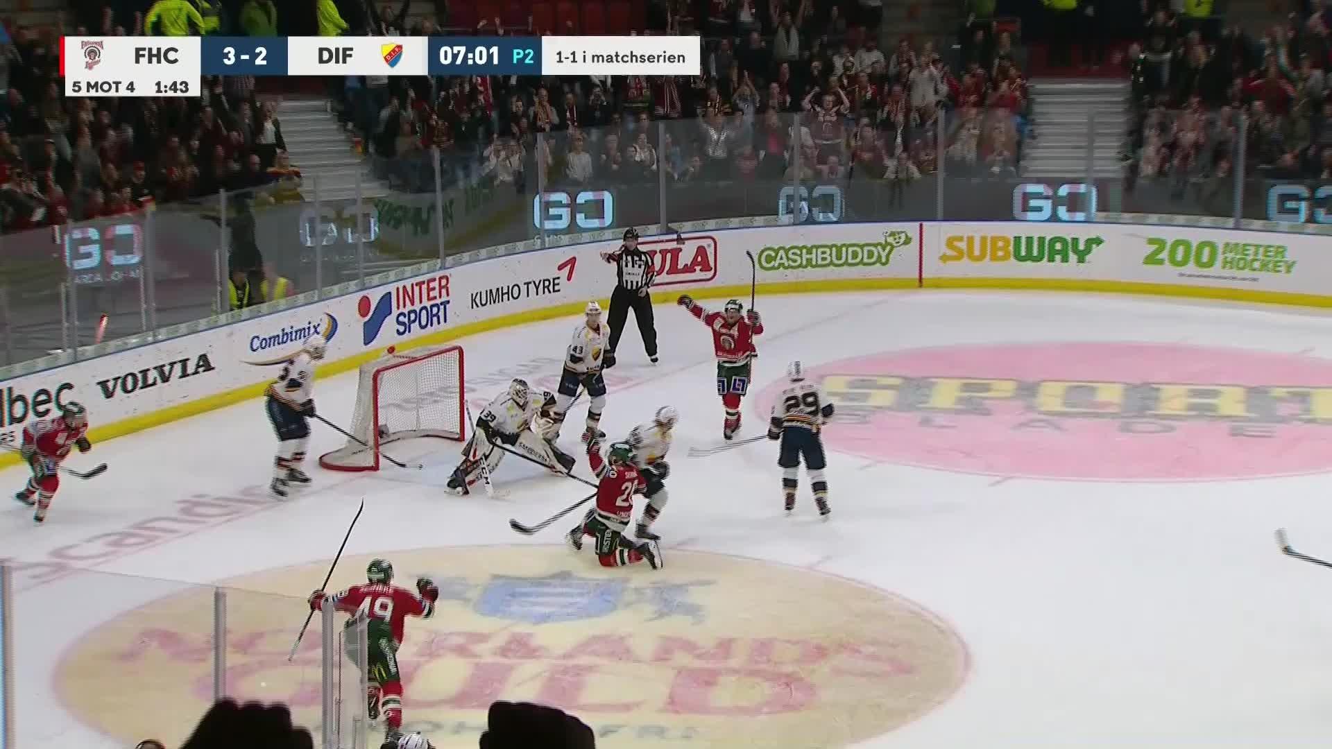 Frölunda HC - Djurgården Hockey 4-2