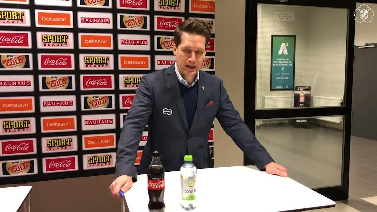 Presskonferens efter SKE - VLH