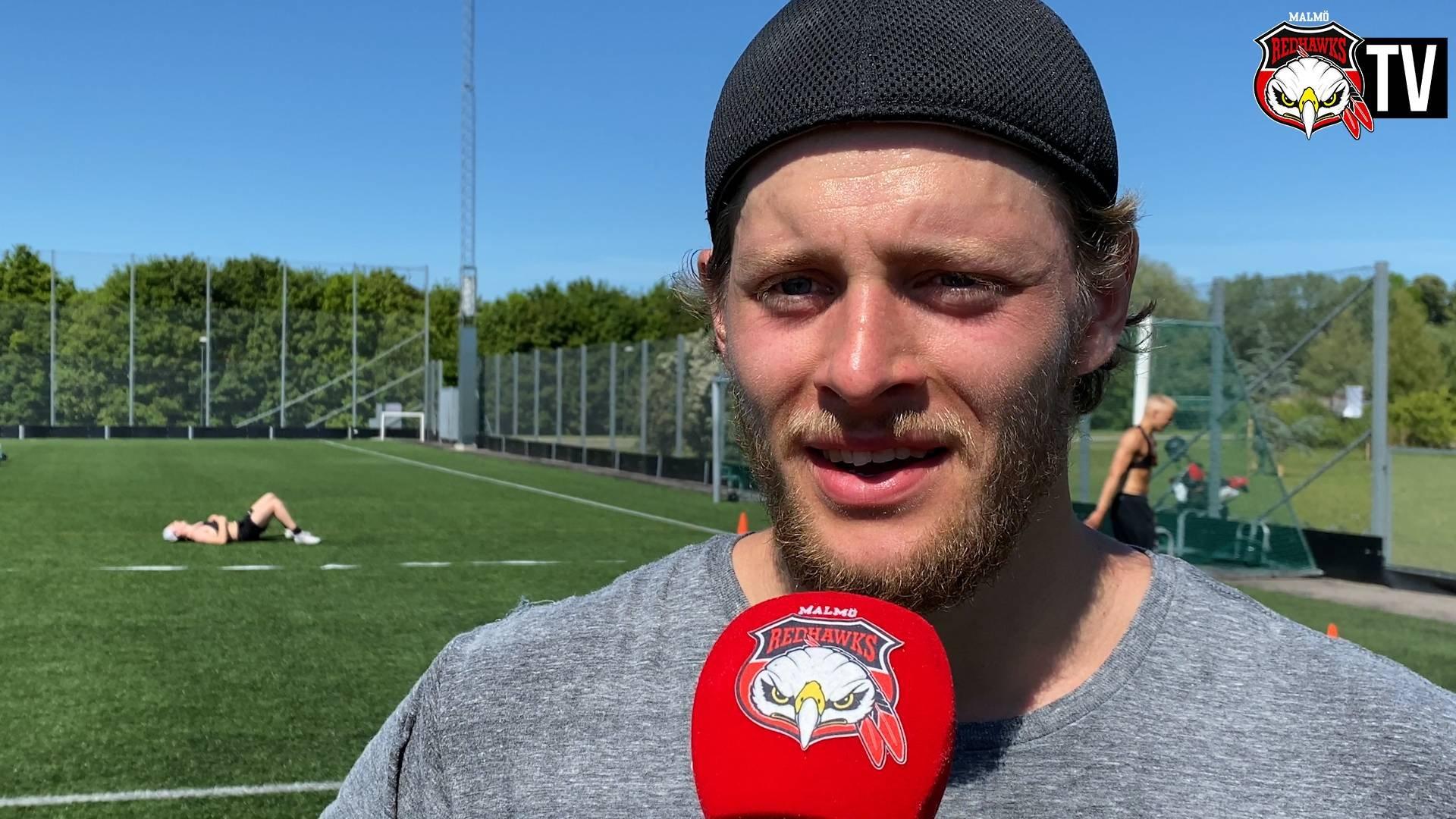 Carl Persson från utepasset