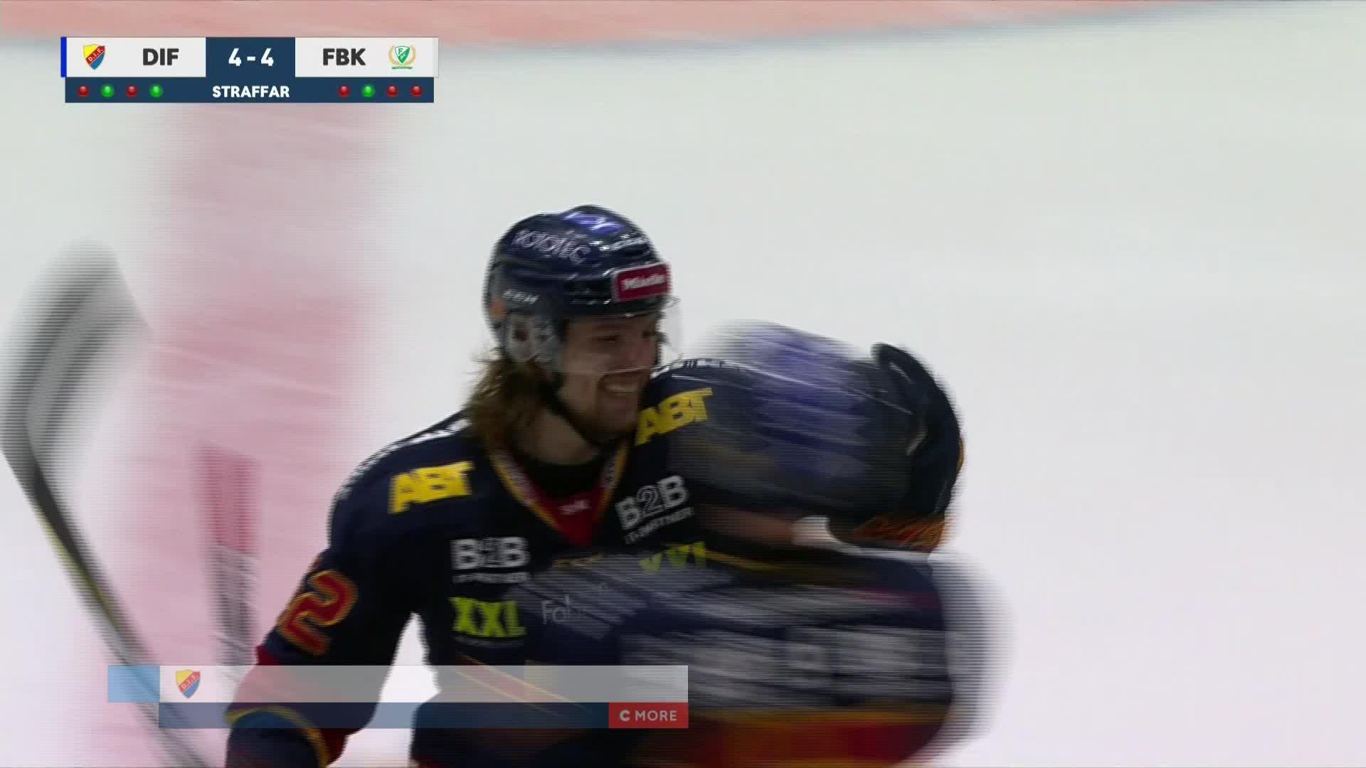 Djurgården Hockey - Färjestad BK 5-4