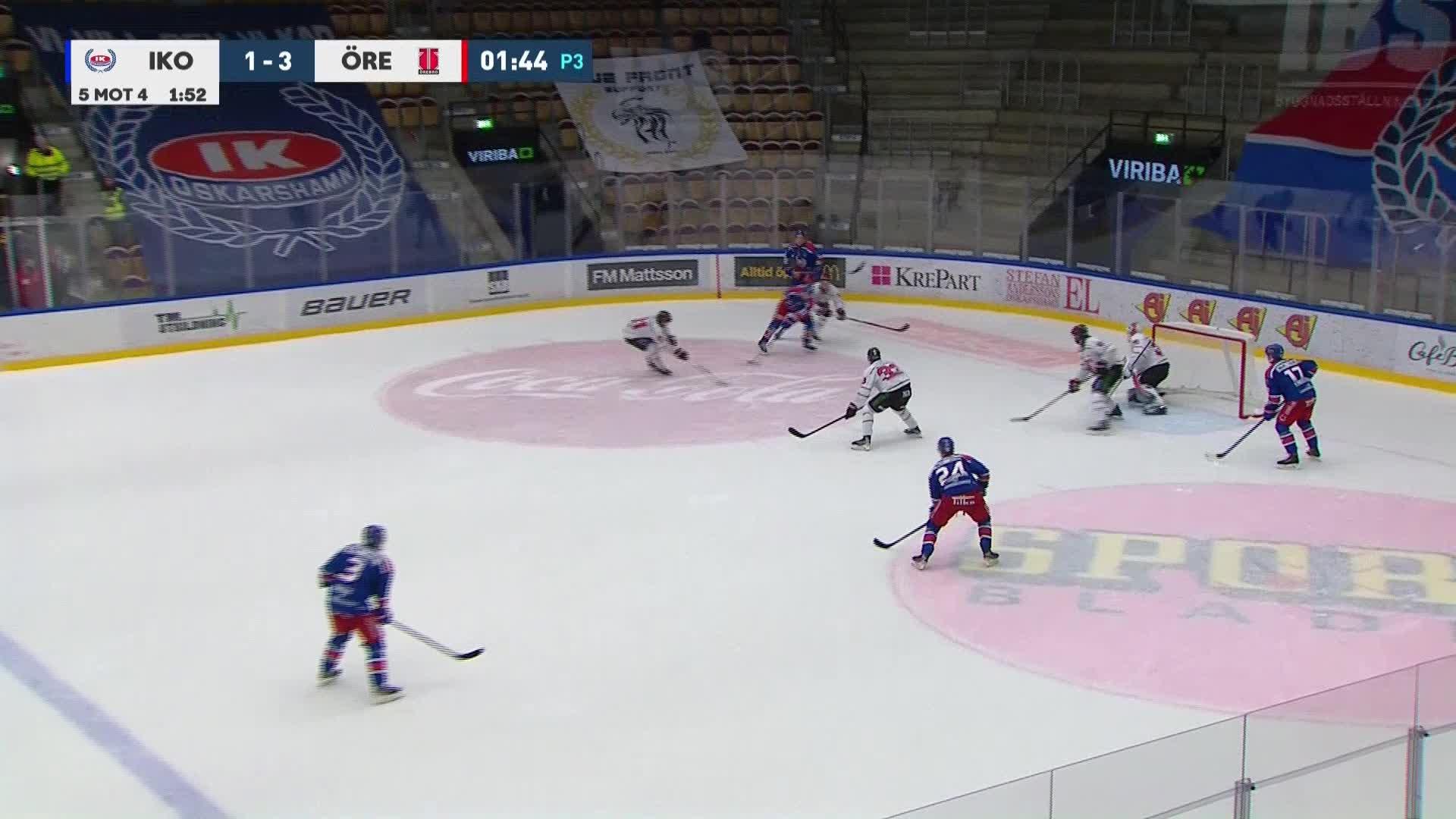 IK Oskarshamn - Örebro Hockey 2-3