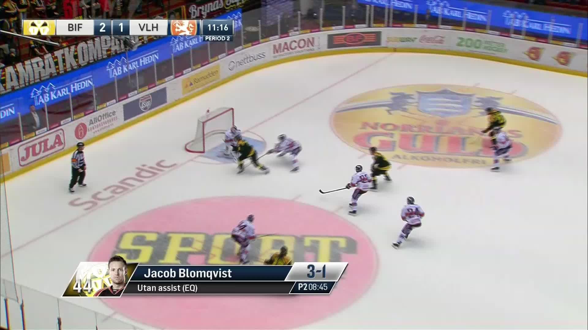 Brynäs IF - Växjö Lakers 3-1
