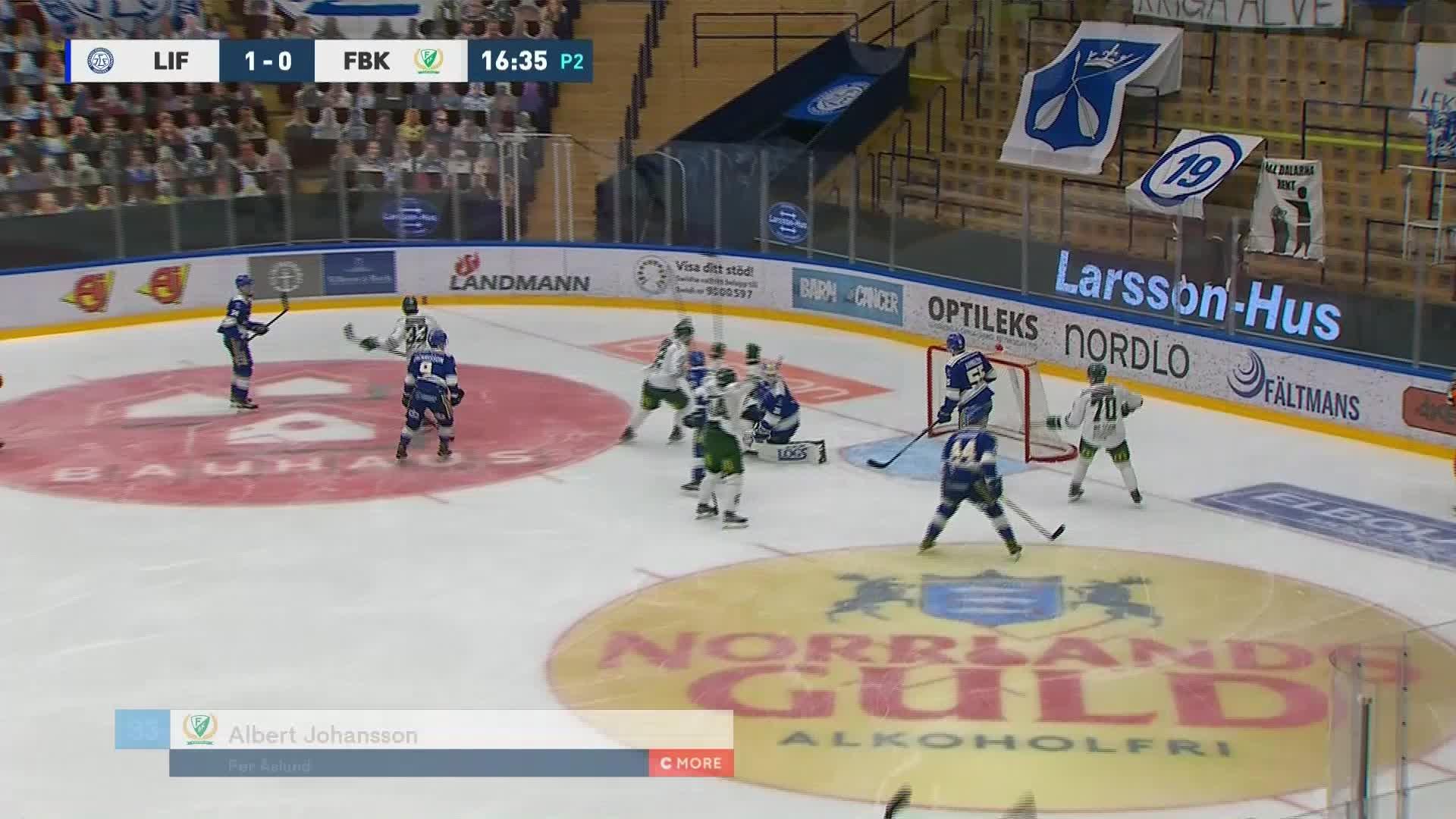 Leksands IF - Färjestad BK 1-1