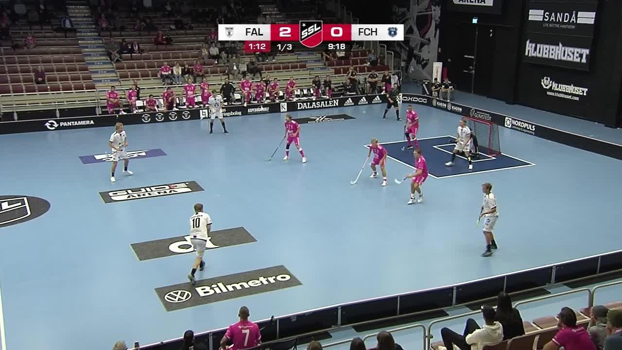Highlights: IBF Falun-FC Helsingborg