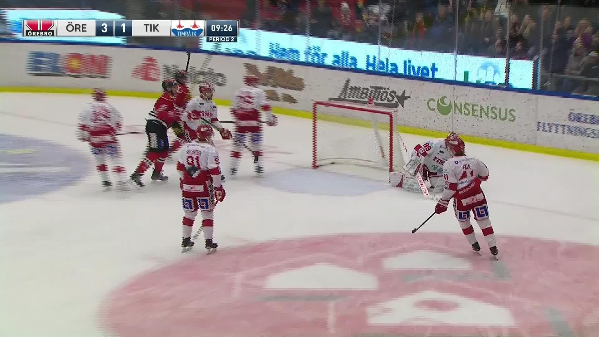 Örebro Hockey - Timrå IK 4-1
