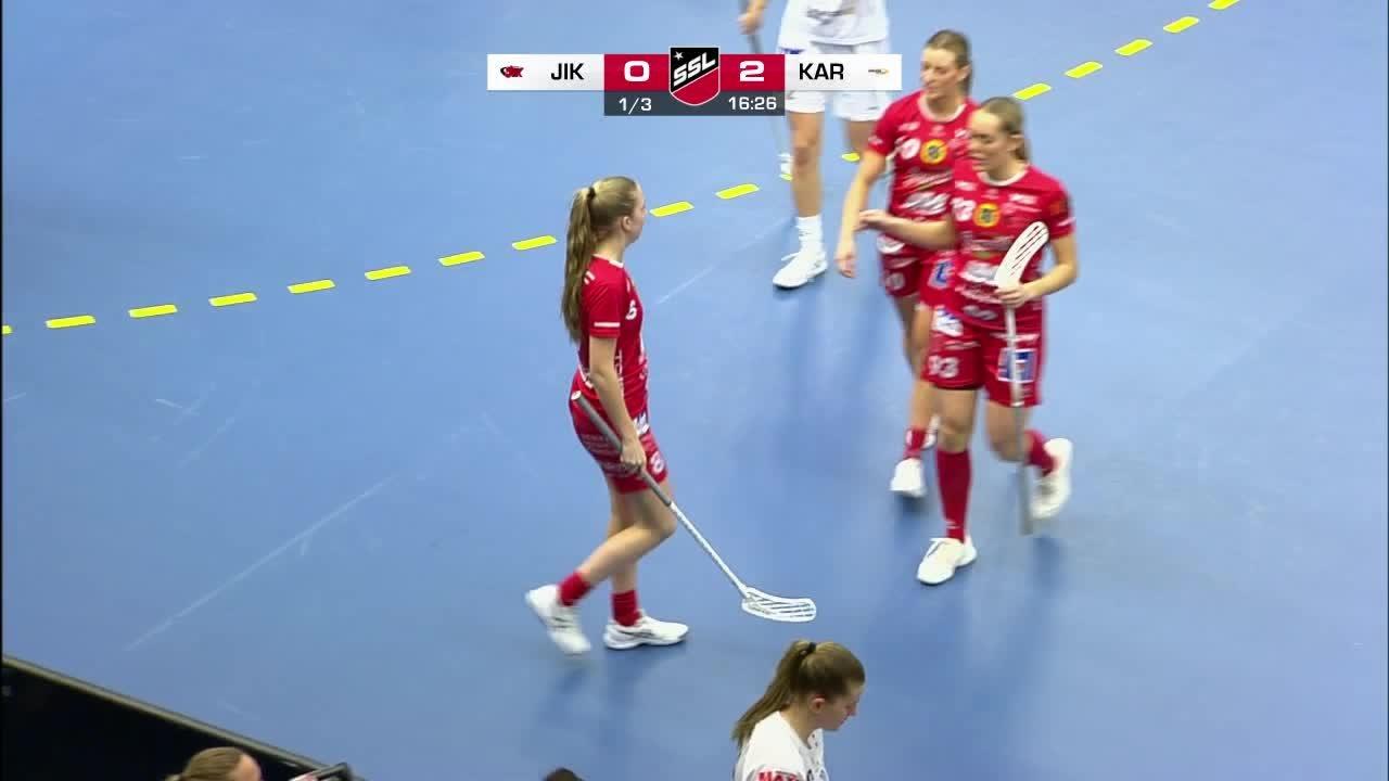 Highlights: Jönköpings IK - Karlstad Innebandy