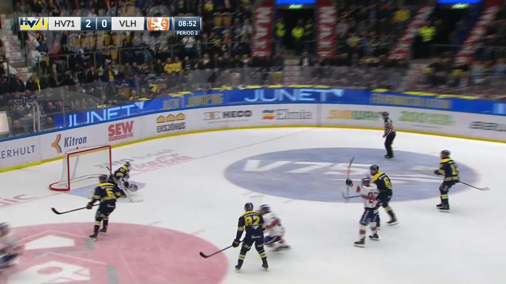 HV71 - Växjö Lakers 2-1