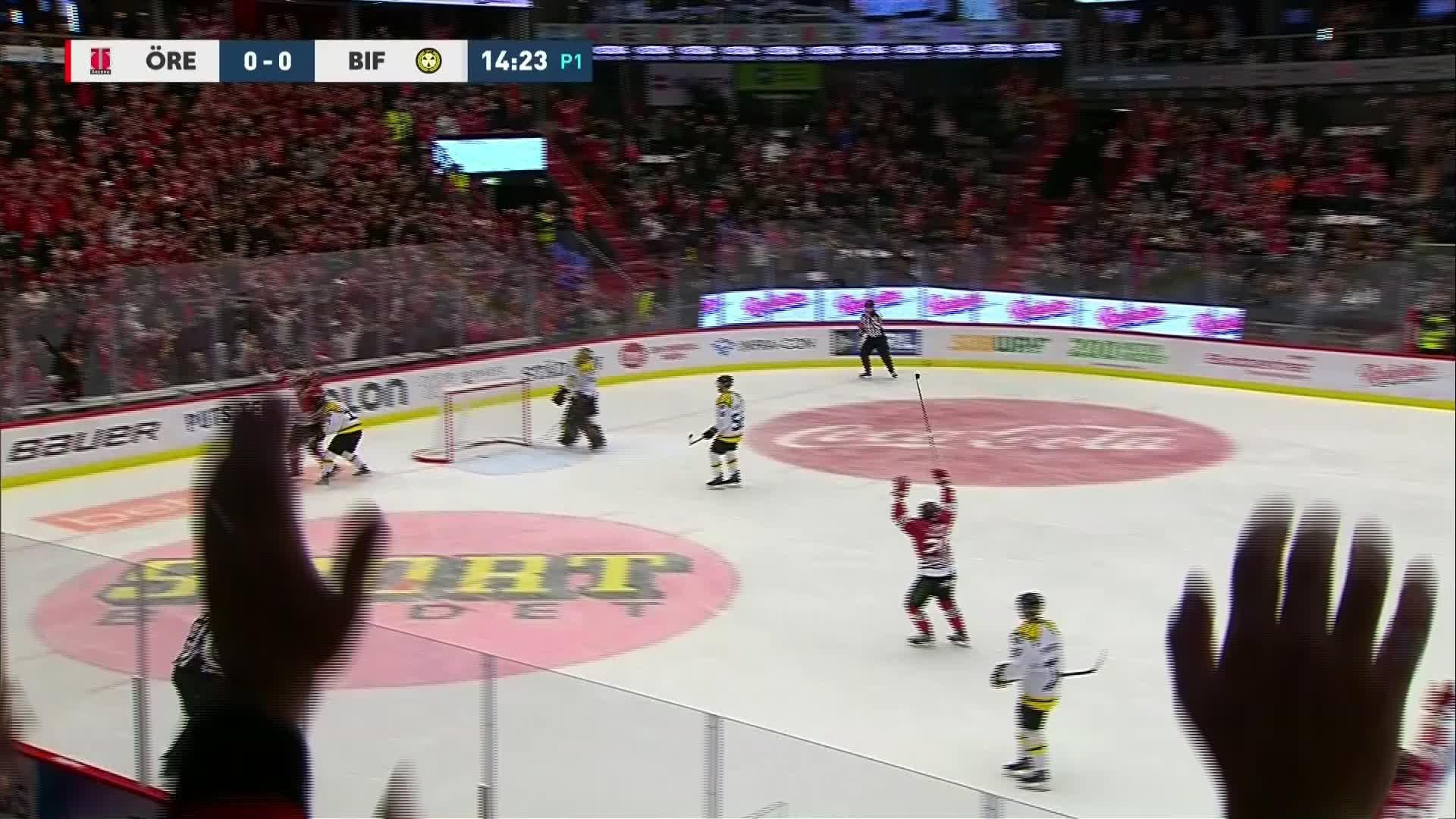 Örebro Hockey - Brynäs IF 1-0