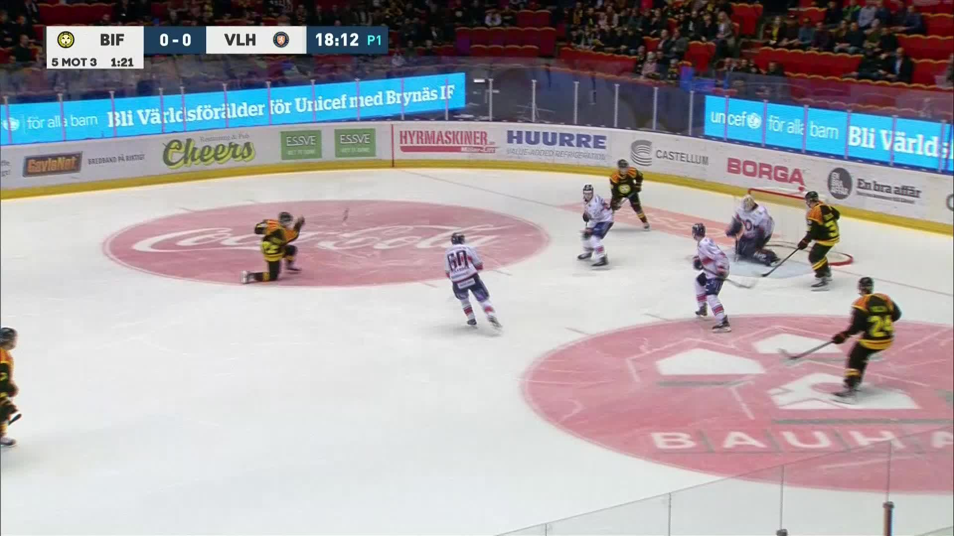 Brynäs IF - Växjö Lakers 1-0