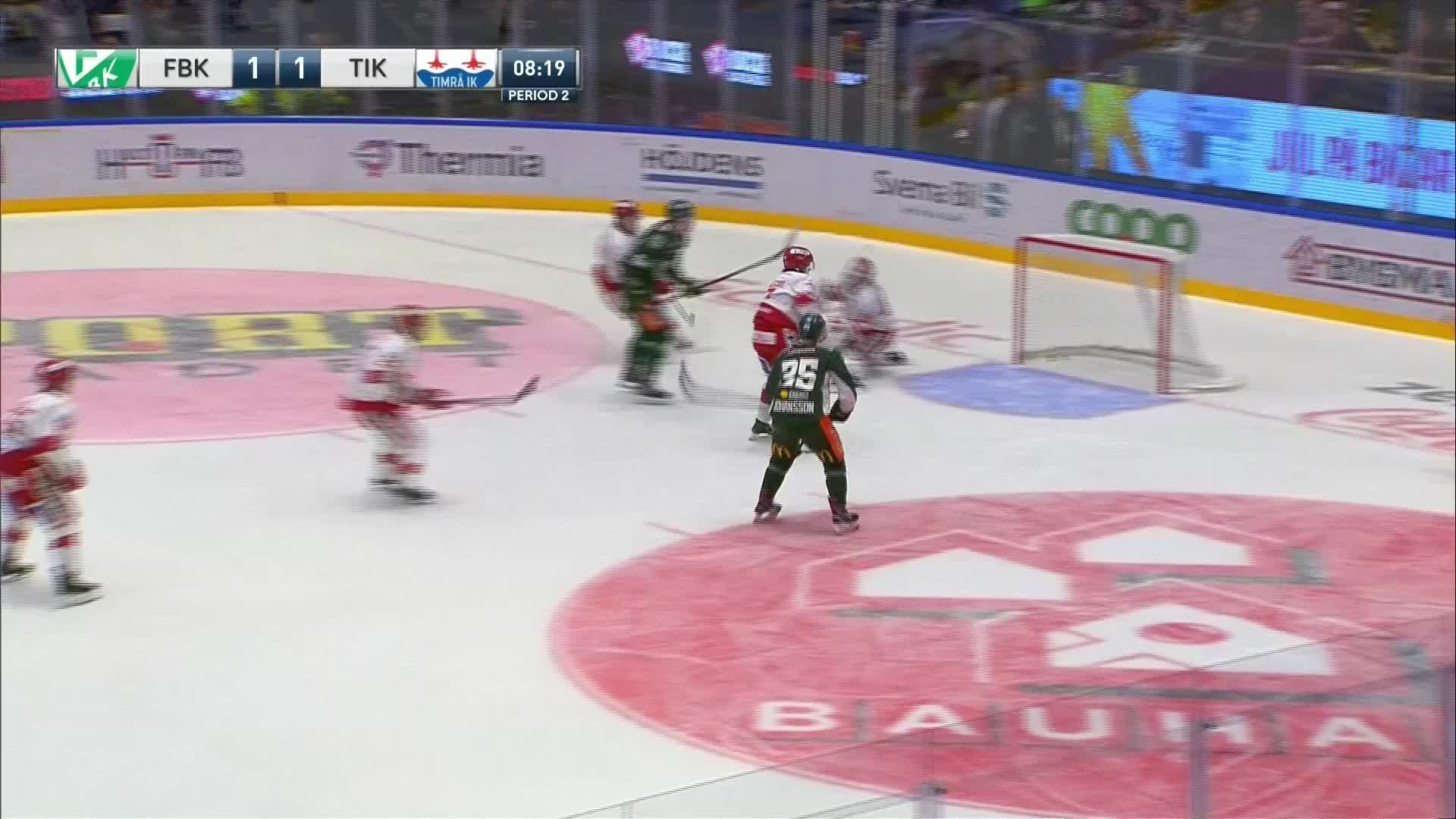 Färjestad BK - Timrå IK 2-1