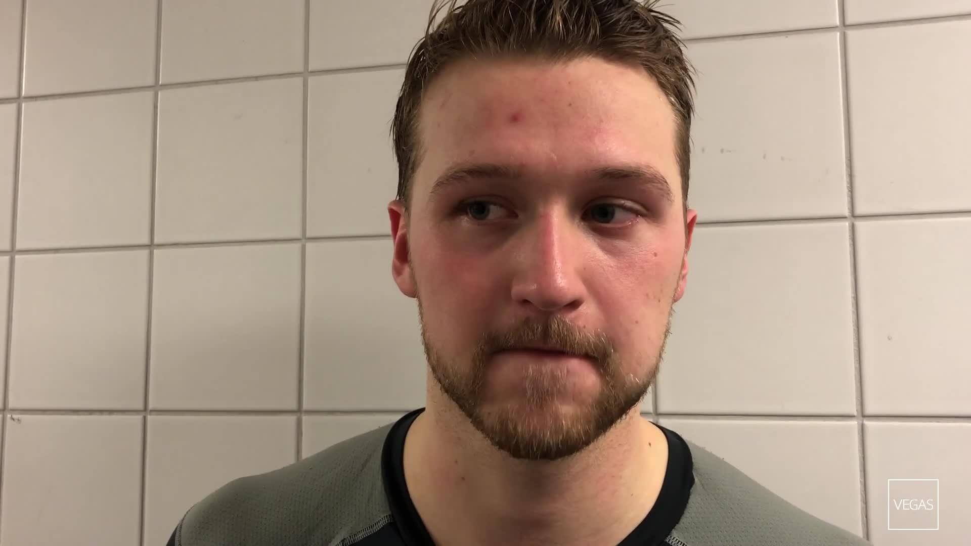 Herman Sagfossen etter 2-7 mot Frisk Asker