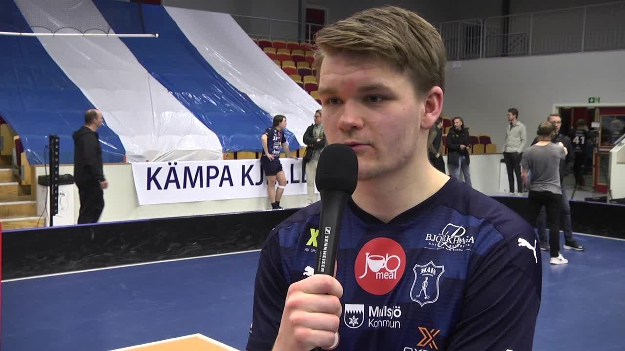 Intervju med Wille Knuthas efter semifinal 2