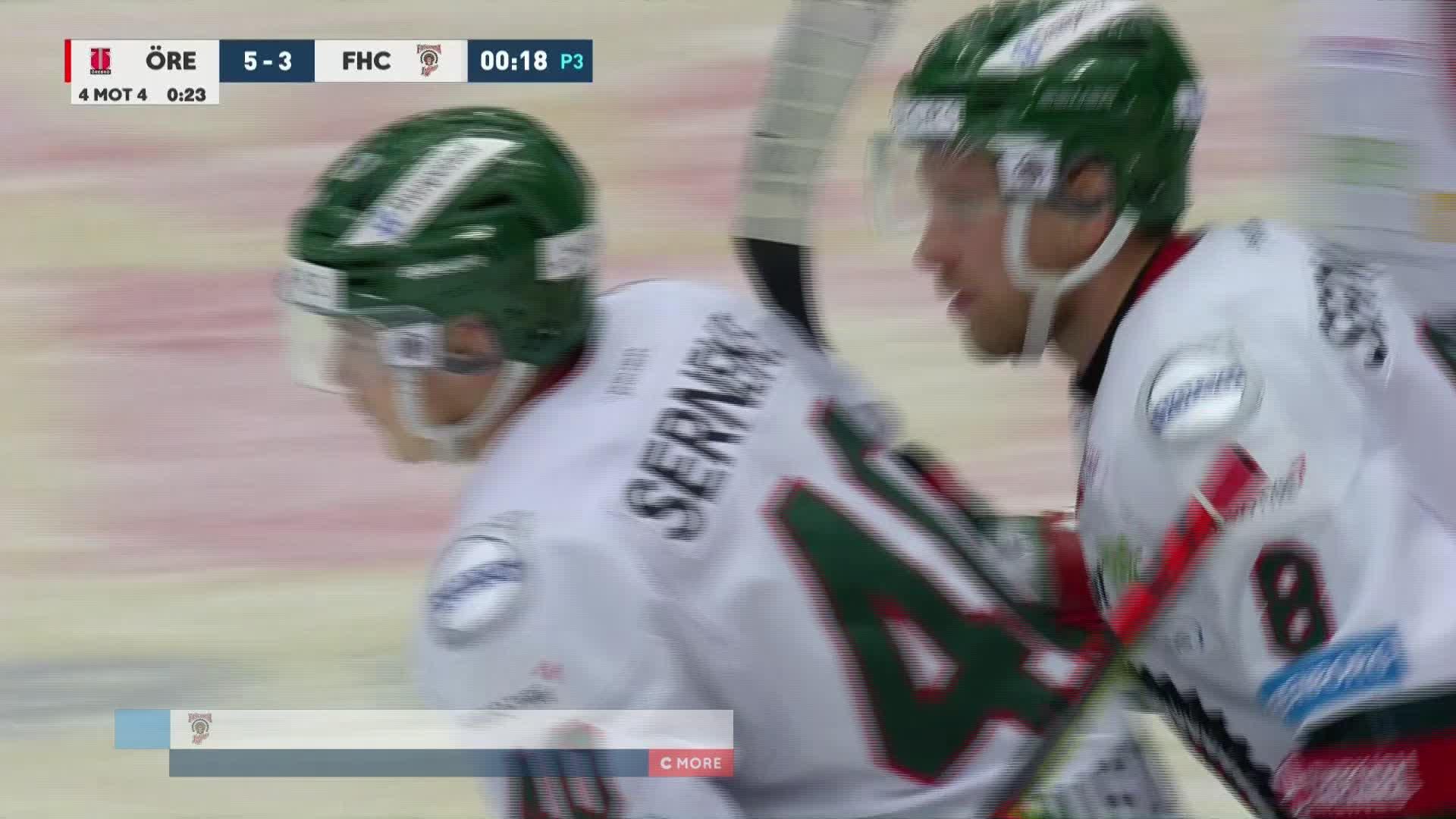 Örebro Hockey - Frölunda HC 5-3
